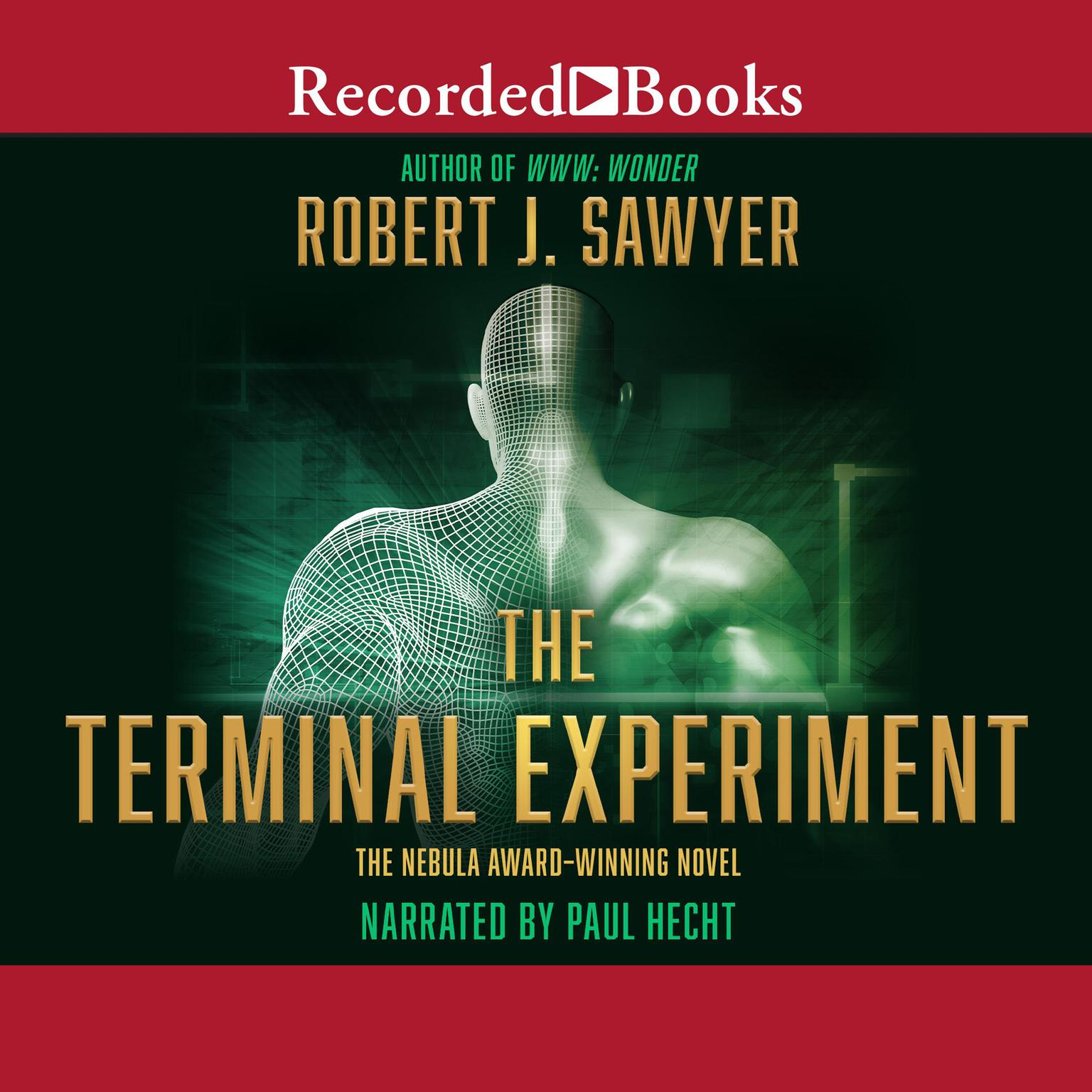 Printable The Terminal Experiment Audiobook Cover Art