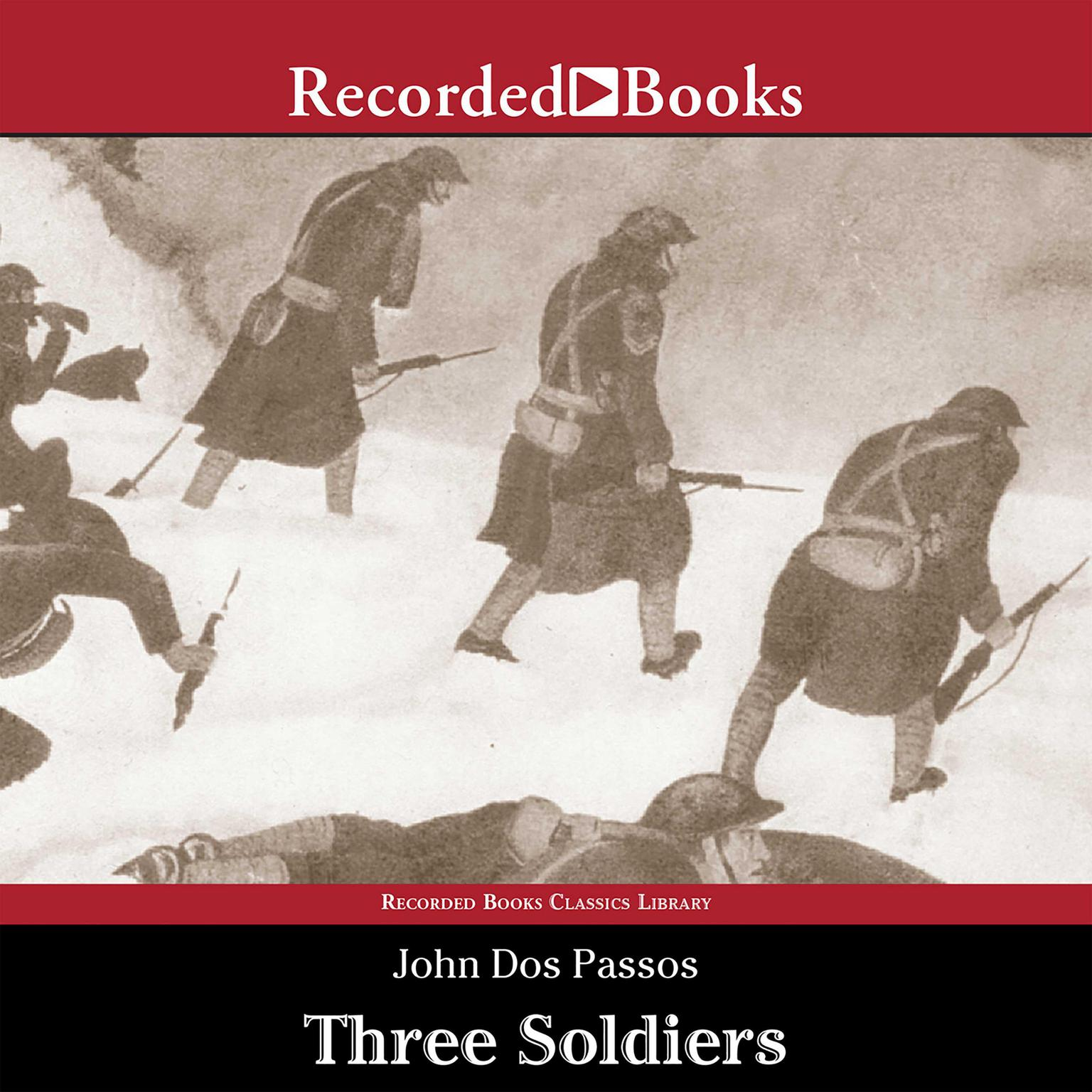 Printable Three Soldiers Audiobook Cover Art