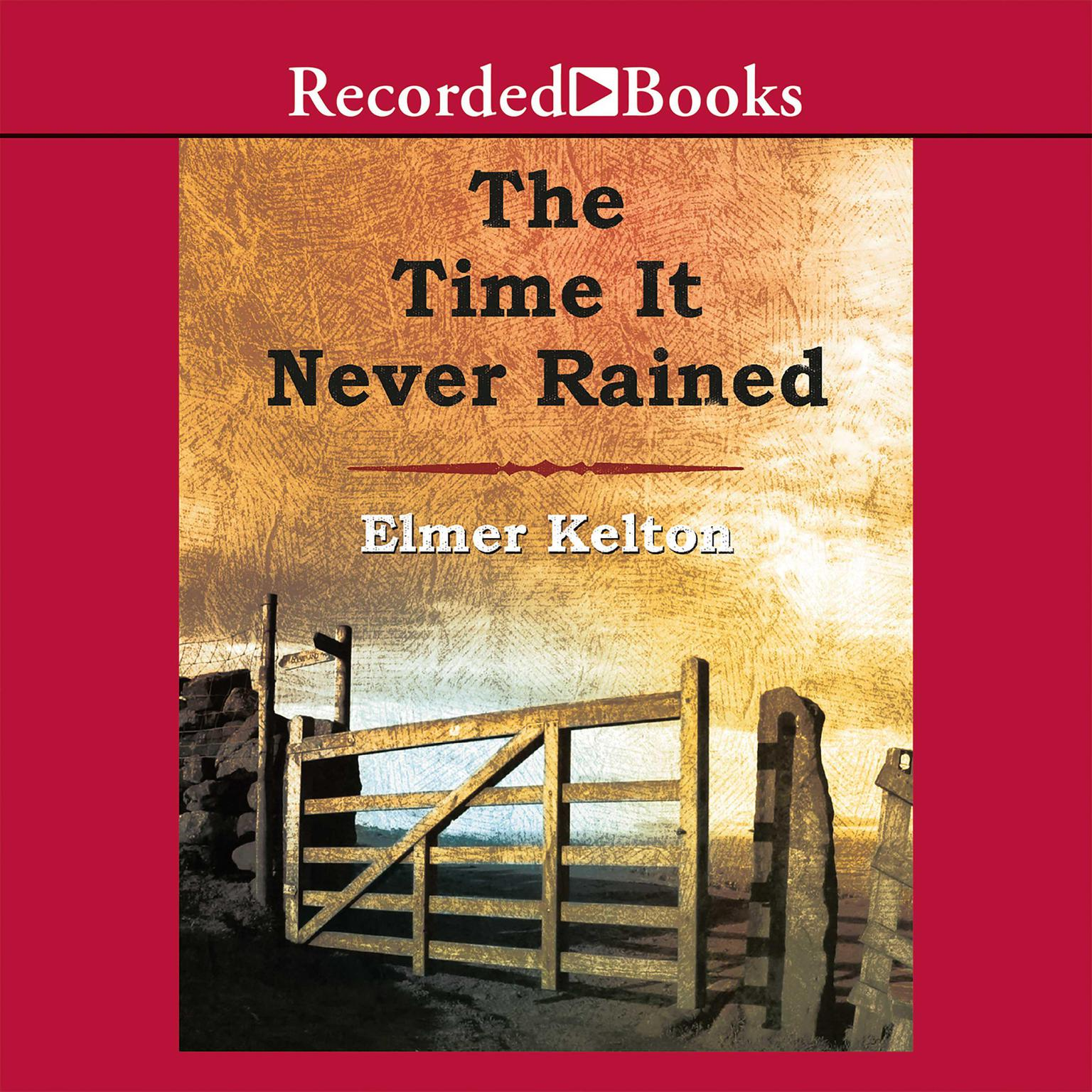 Printable The Time It Never Rained Audiobook Cover Art