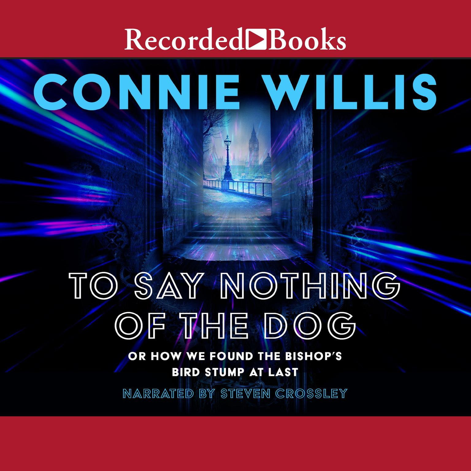 Printable To Say Nothing of the Dog Audiobook Cover Art