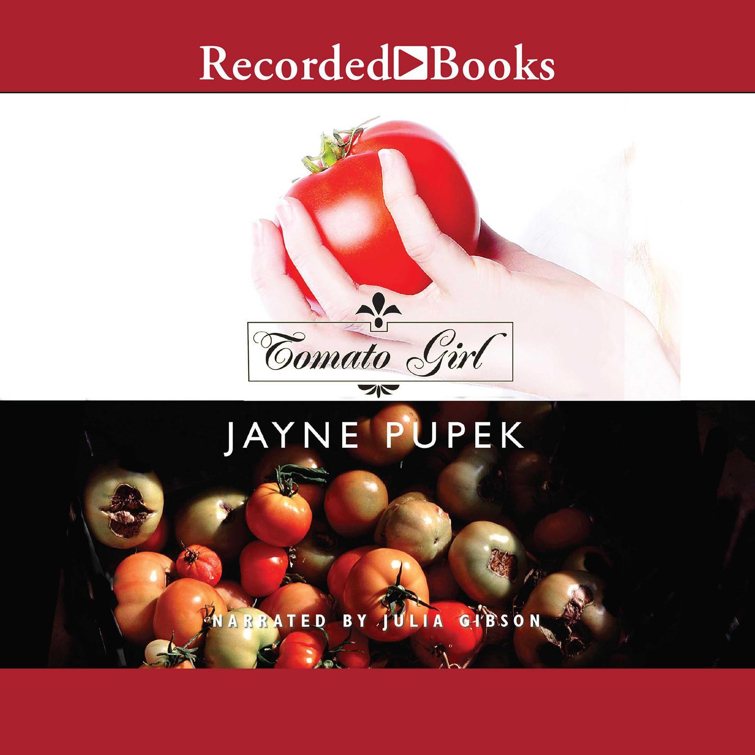 Printable Tomato Girl Audiobook Cover Art