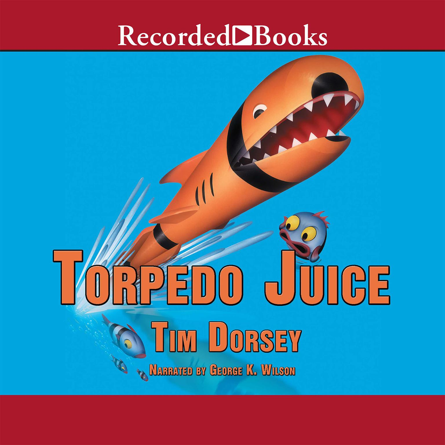 Printable Torpedo Juice Audiobook Cover Art