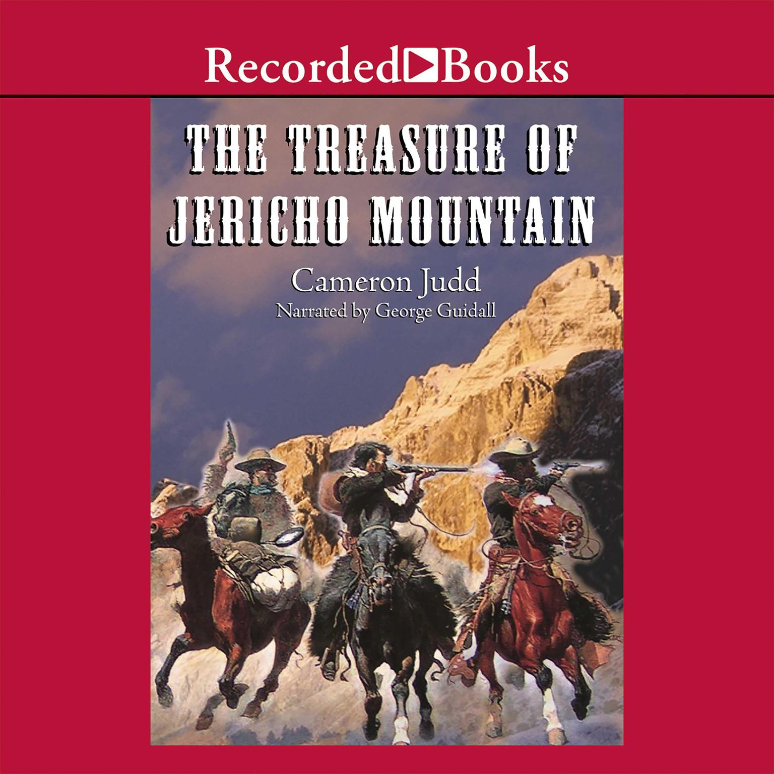 Printable The Treasure of Jericho Mountain Audiobook Cover Art