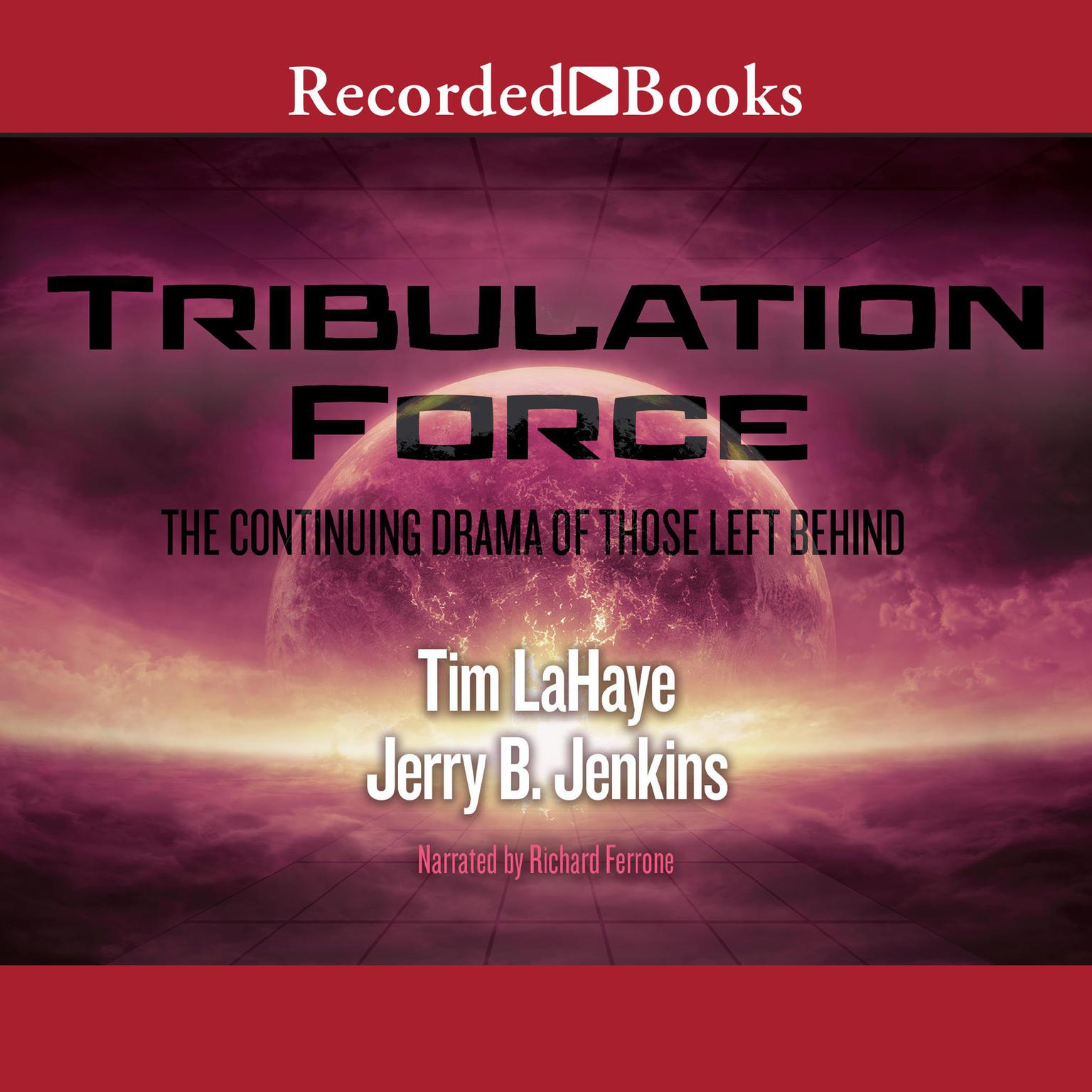 Printable Tribulation Force: The Continuing Drama of Those Left Behind: Left Behind, Book 2 Audiobook Cover Art