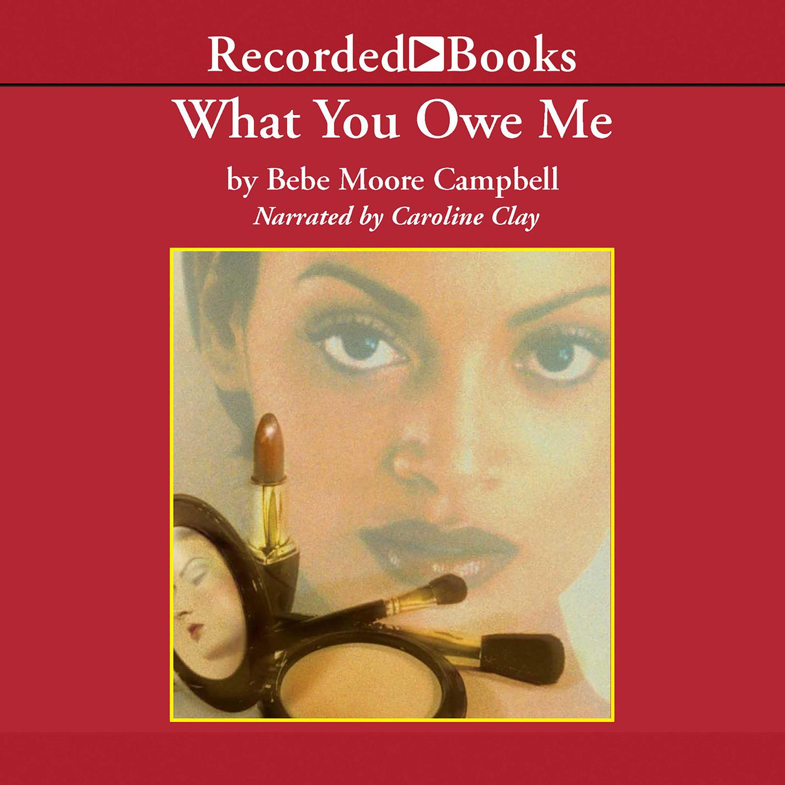 Printable What You Owe Me Audiobook Cover Art