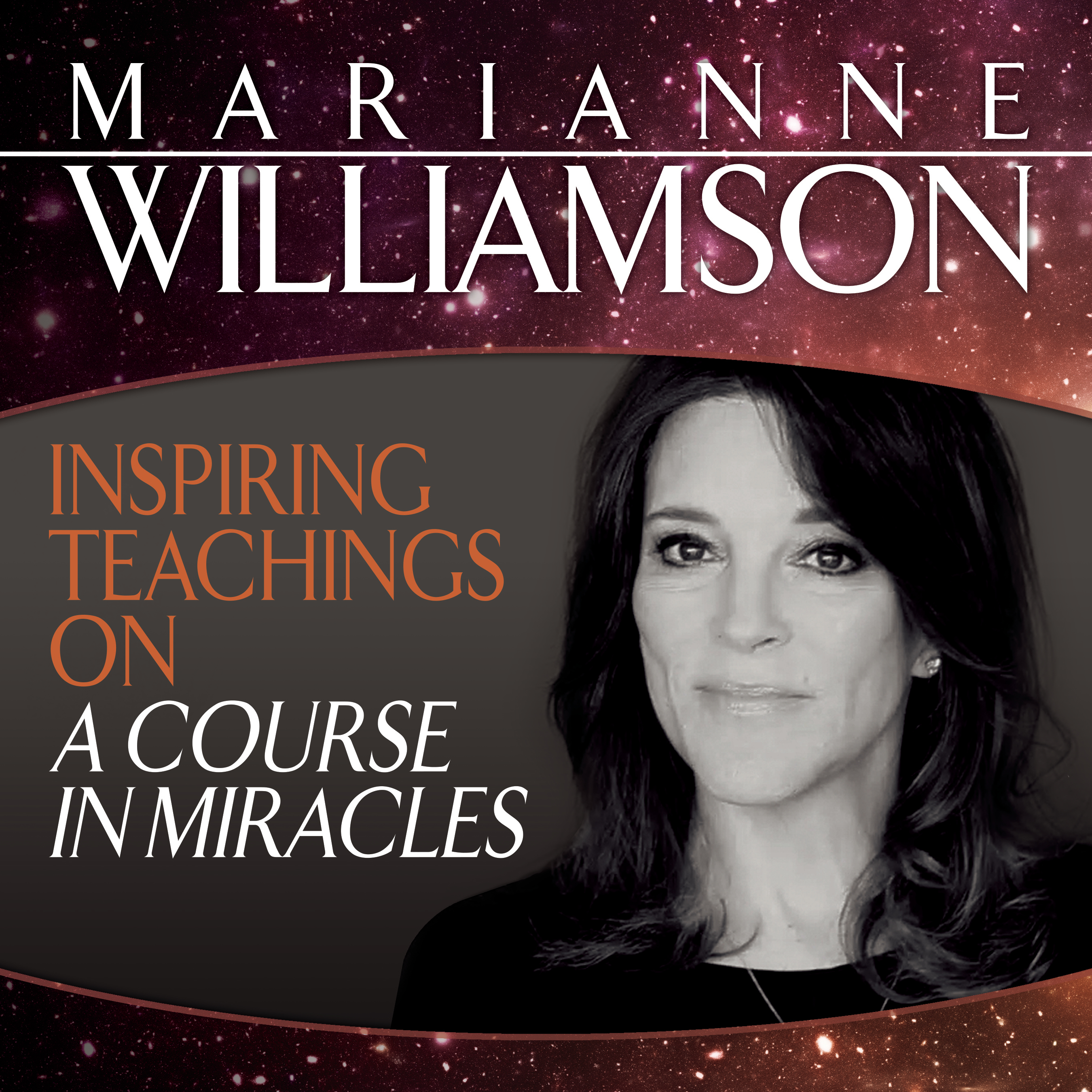 Inspiring teachings on a course in miracles audio book by marianne.