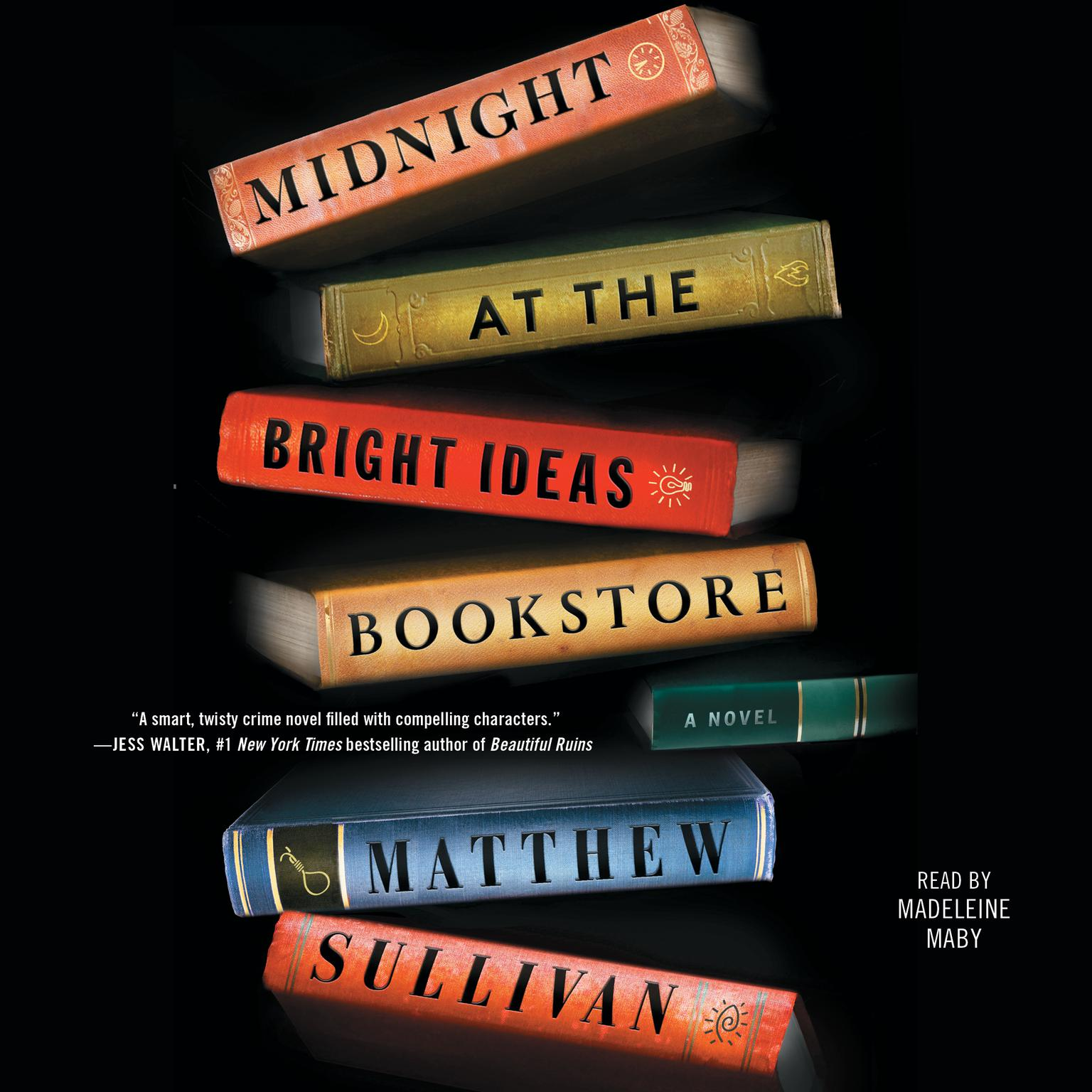 Printable Midnight at the Bright Ideas Bookstore: A Novel Audiobook Cover Art