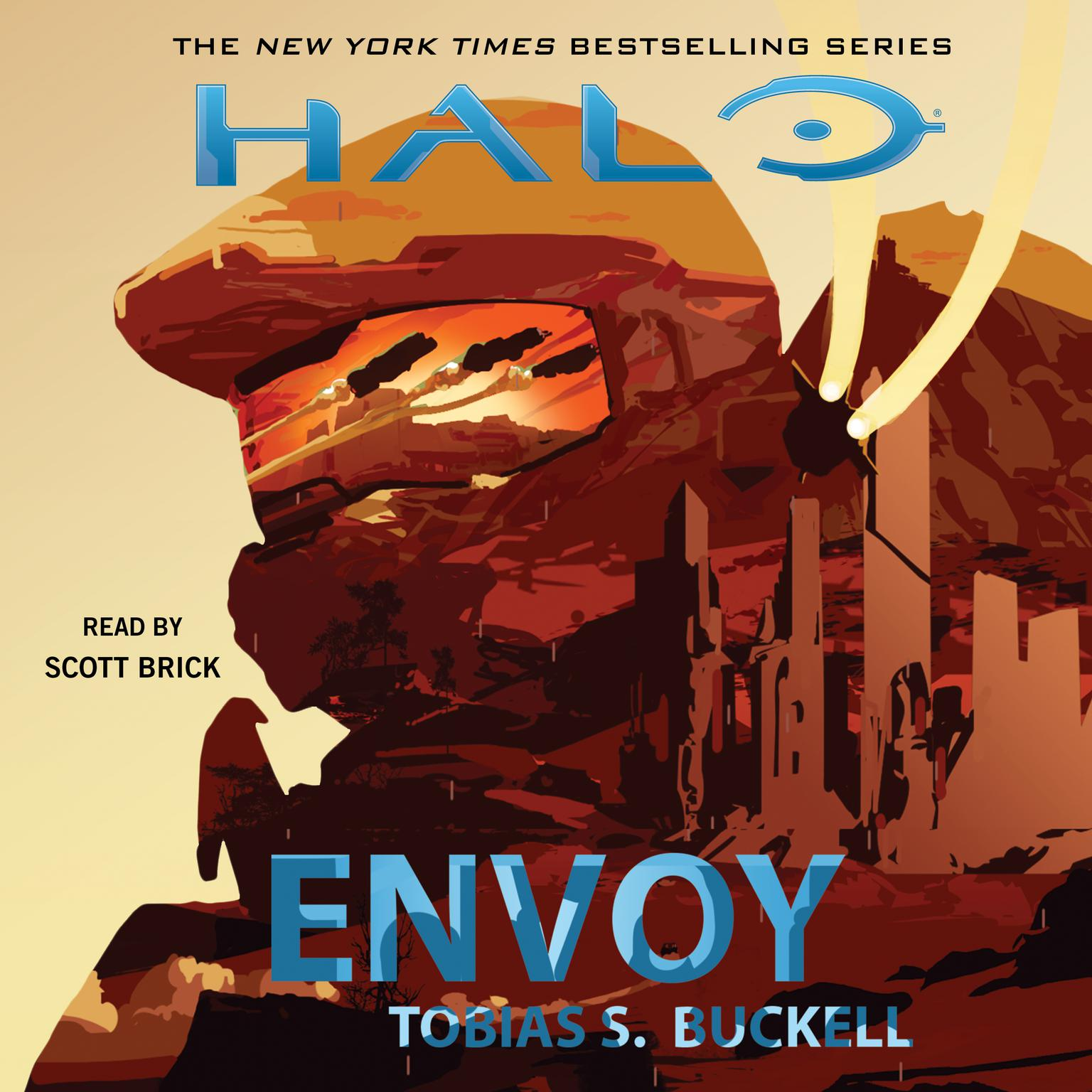 Printable HALO: Envoy Audiobook Cover Art