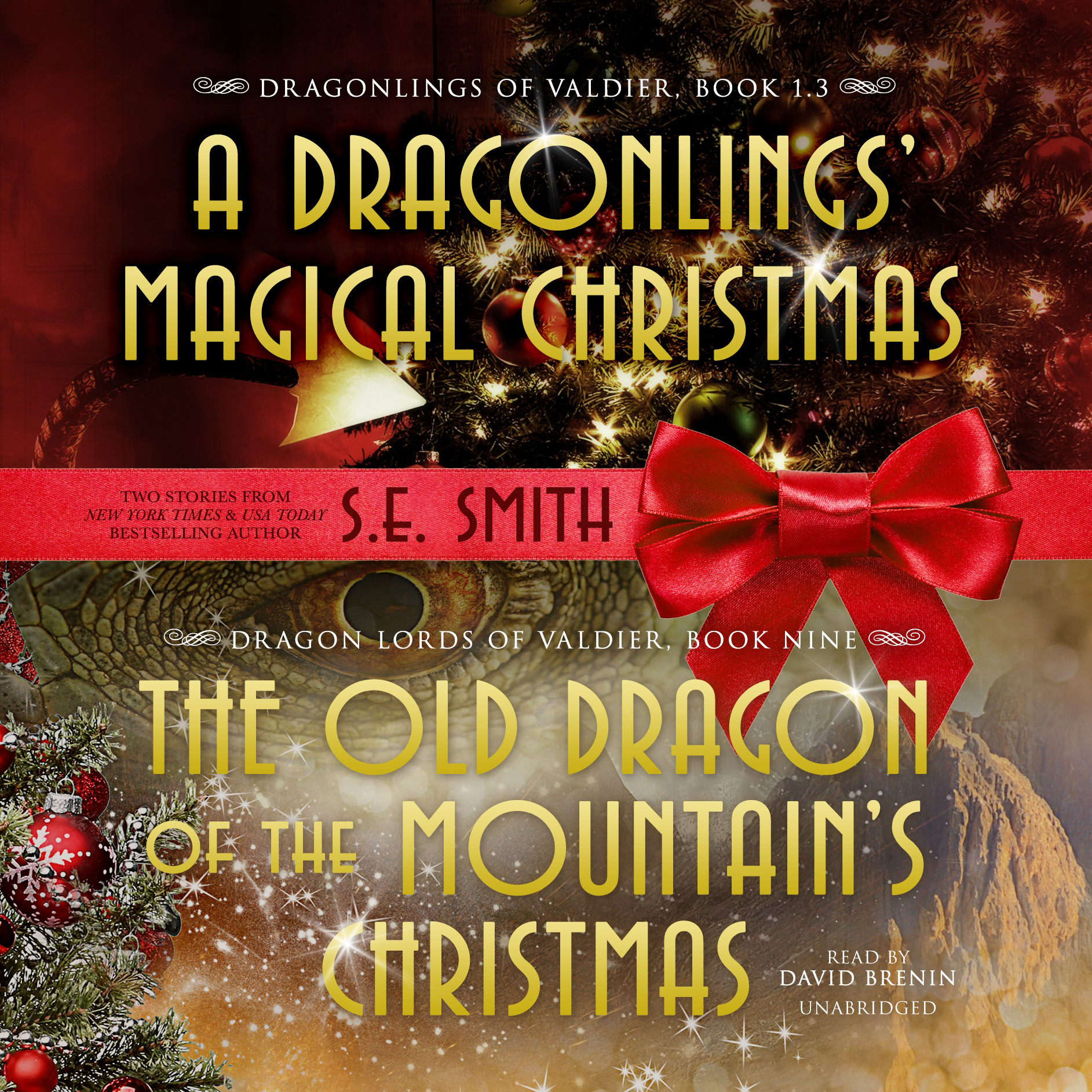 Printable The Old Dragon of the Mountain's Christmas Audiobook Cover Art