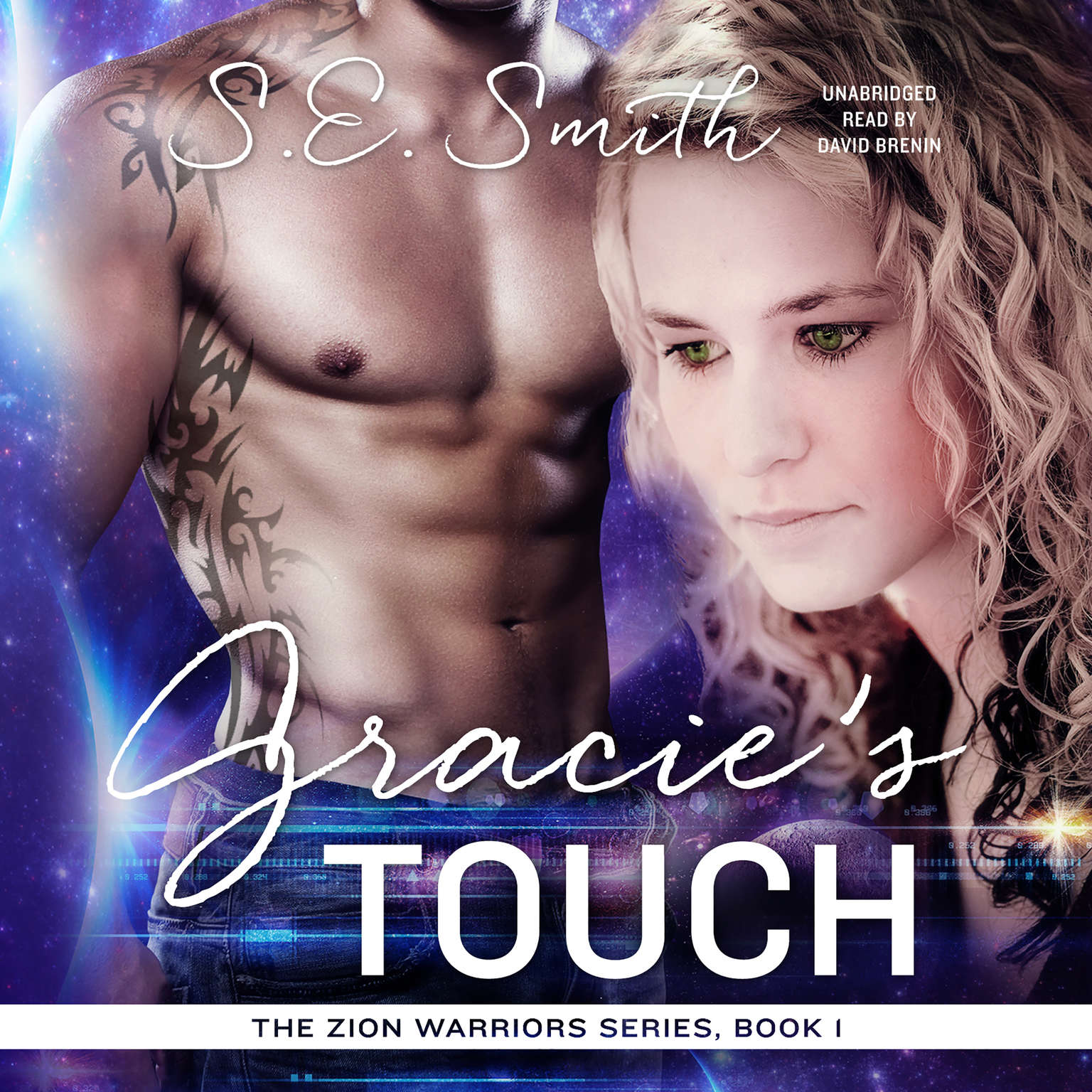 Printable Gracie's Touch Audiobook Cover Art