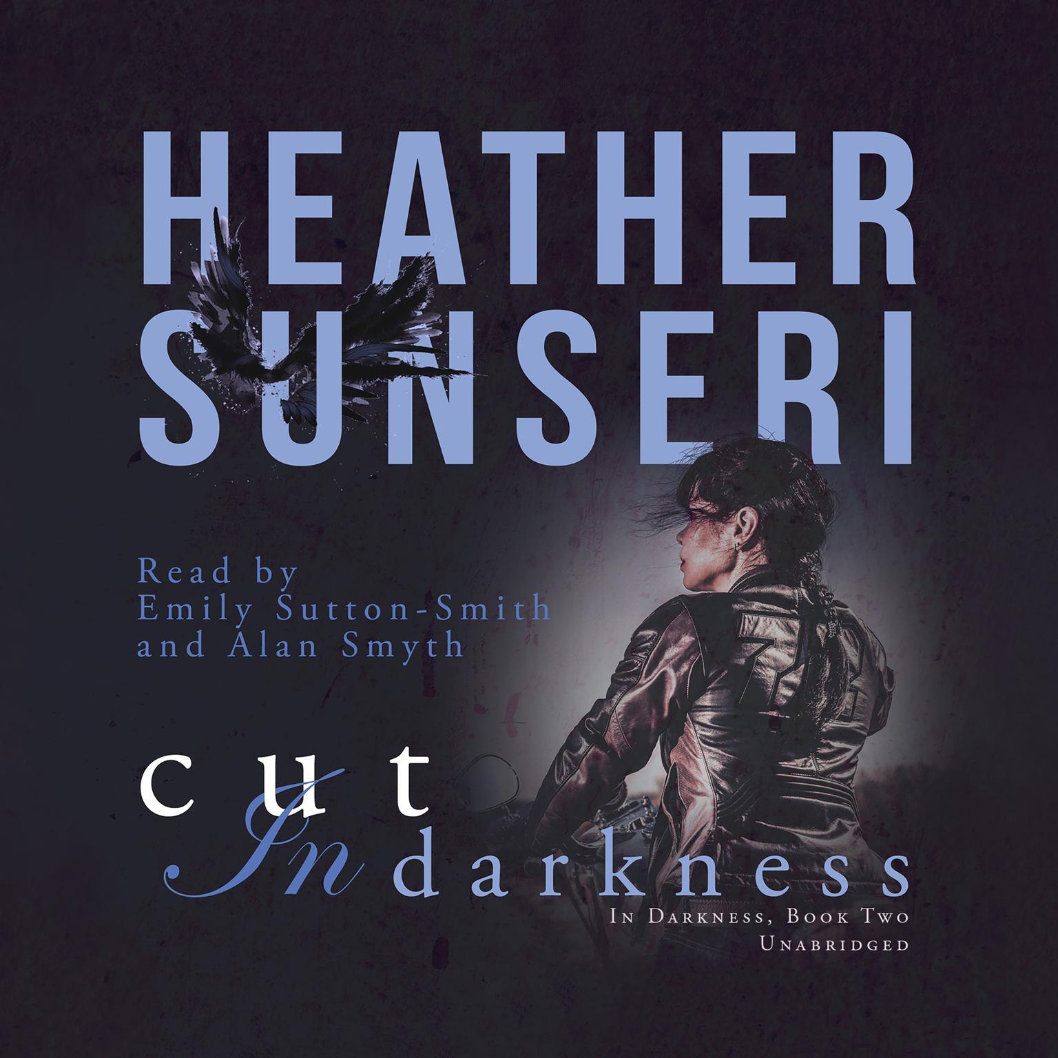 Printable Cut in Darkness Audiobook Cover Art