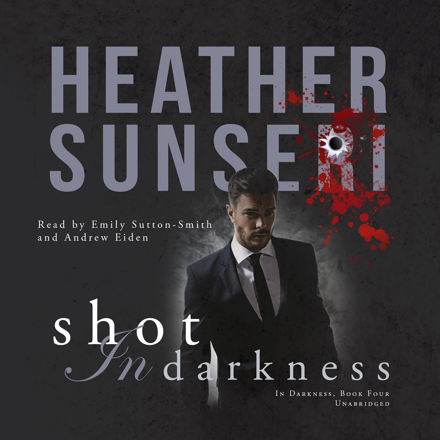 Printable Shot in Darkness Audiobook Cover Art