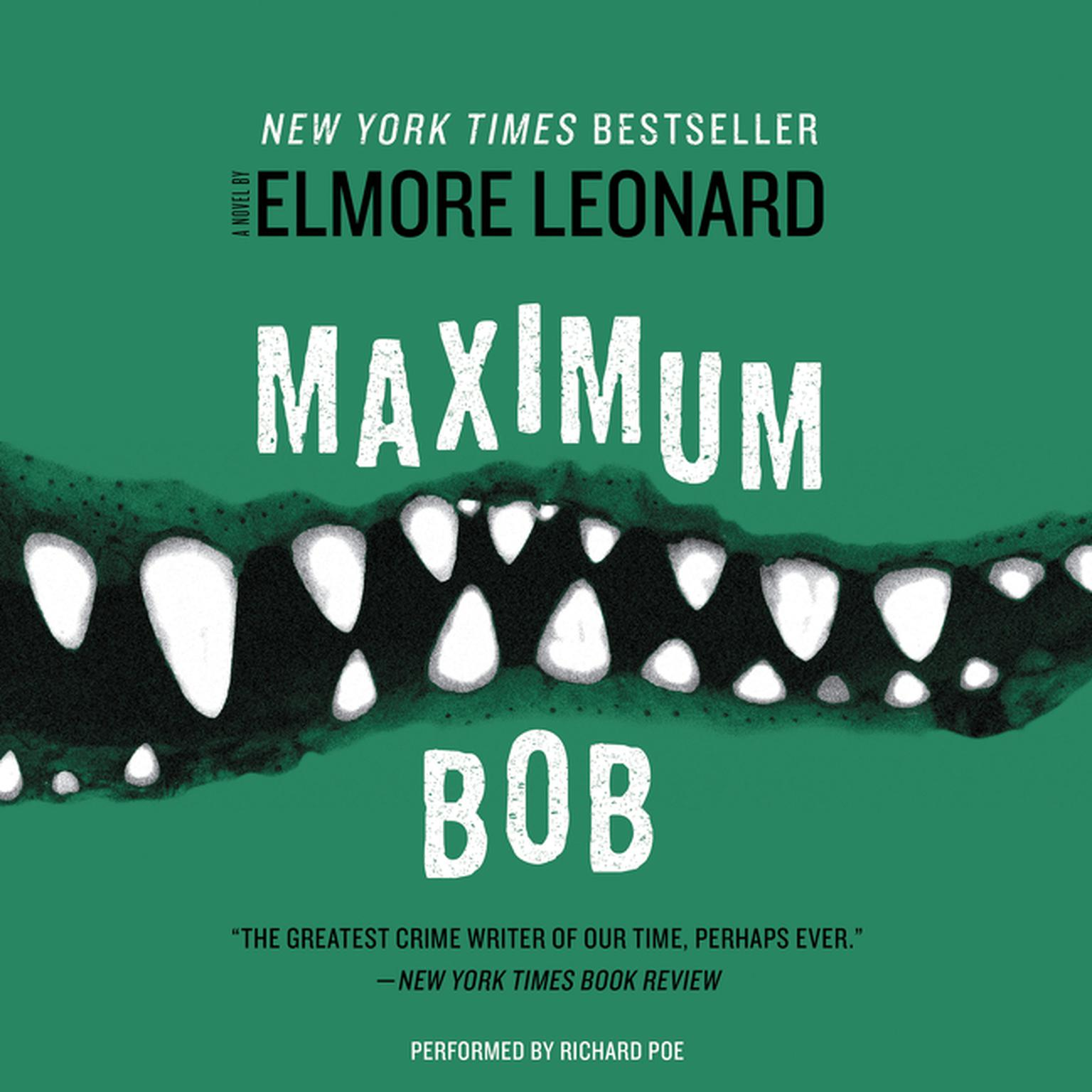 Printable Maximum Bob Audiobook Cover Art