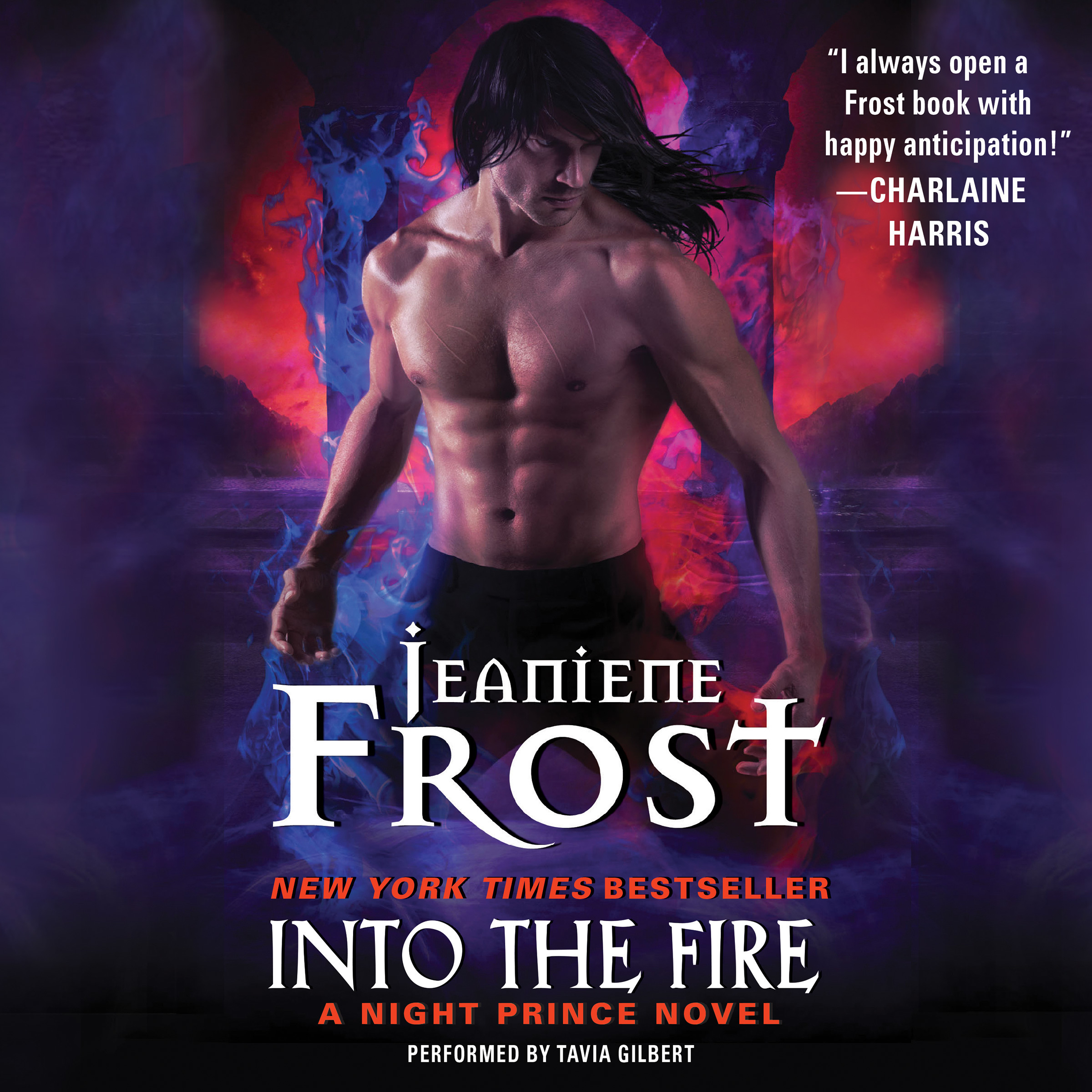 Printable Into the Fire Audiobook Cover Art