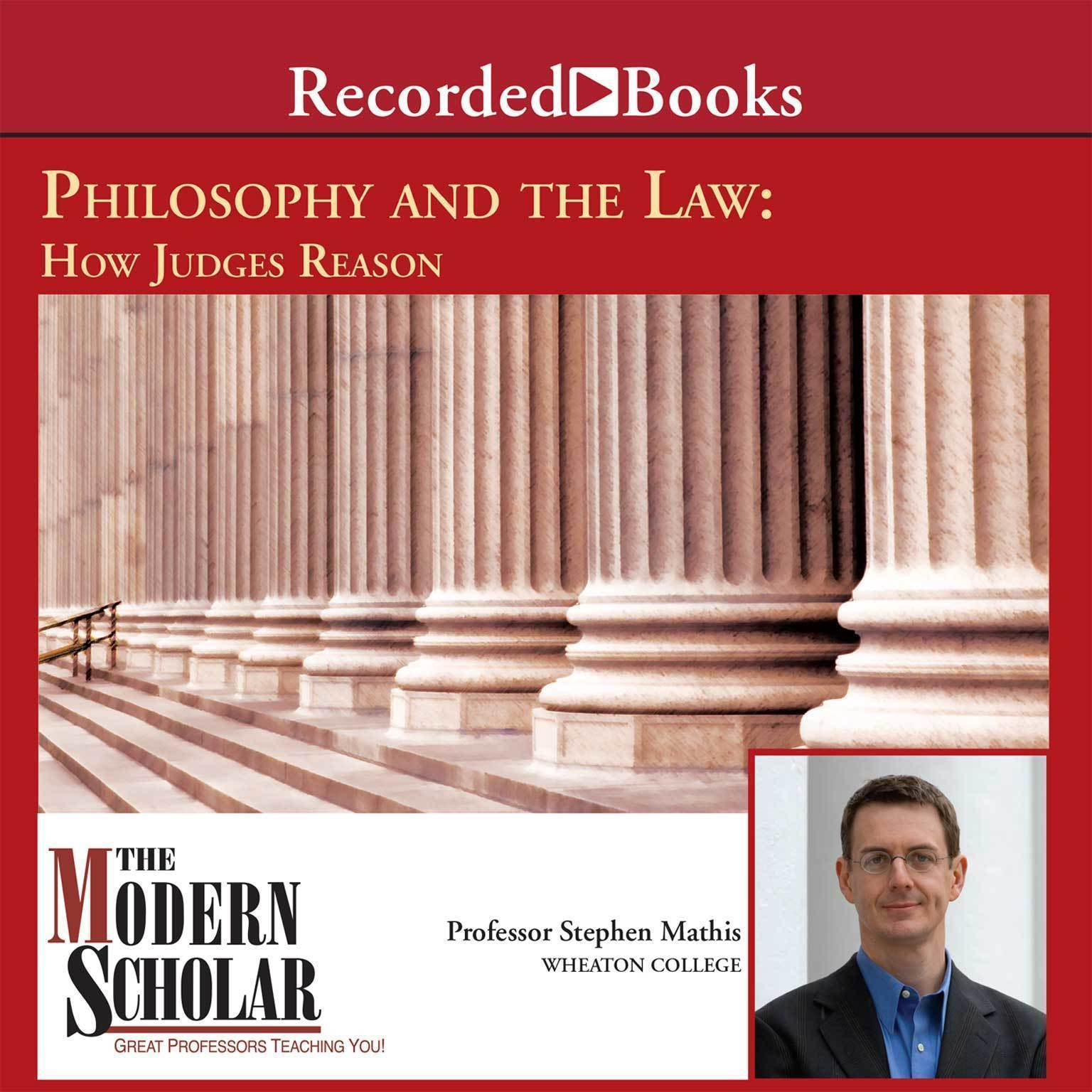Printable Philosophy and the Law: How Judges Reason Audiobook Cover Art