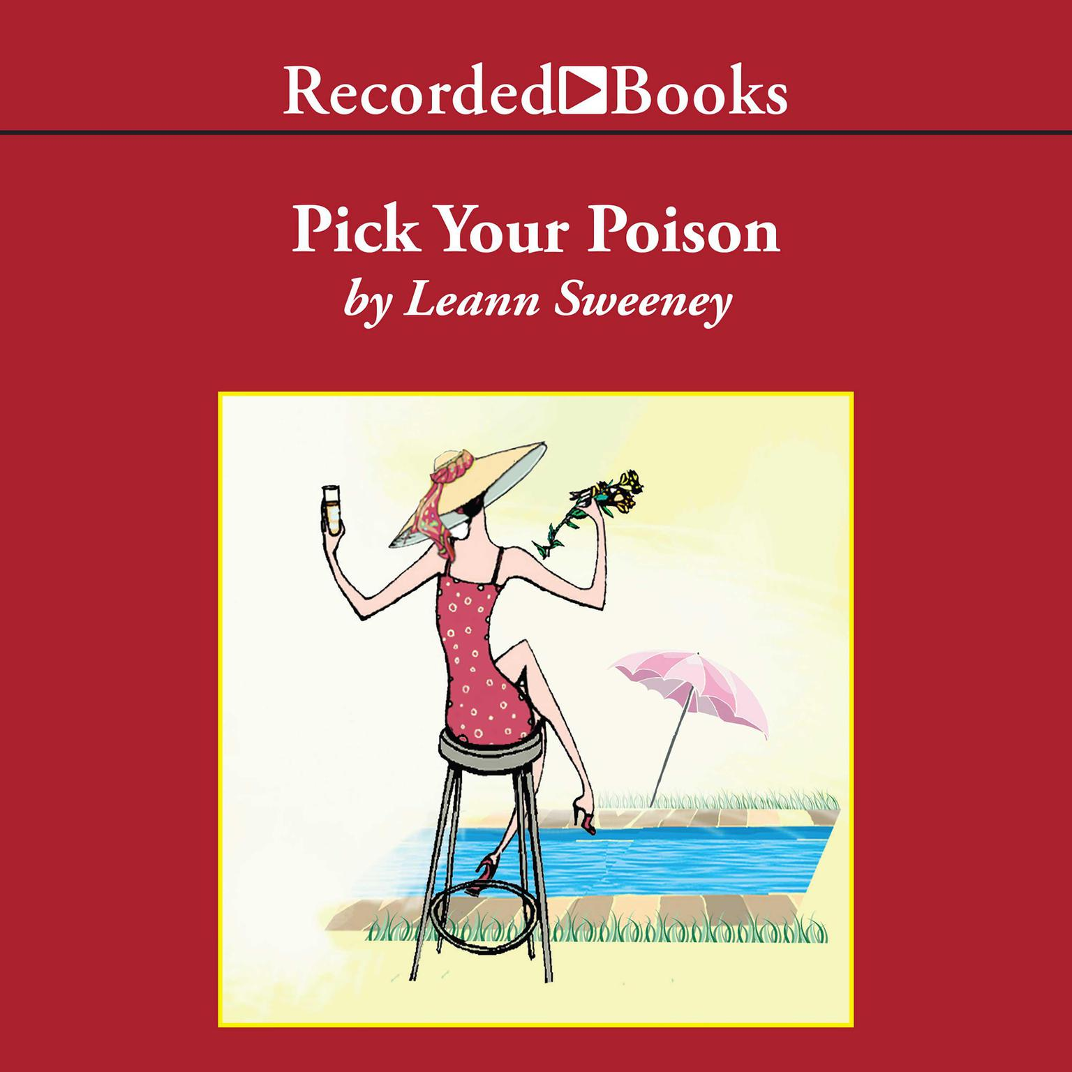 Printable Pick Your Poison Audiobook Cover Art