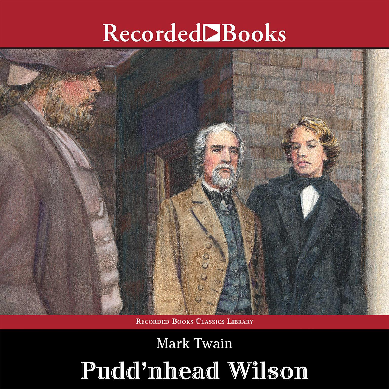Printable Pudd'nhead Wilson Audiobook Cover Art