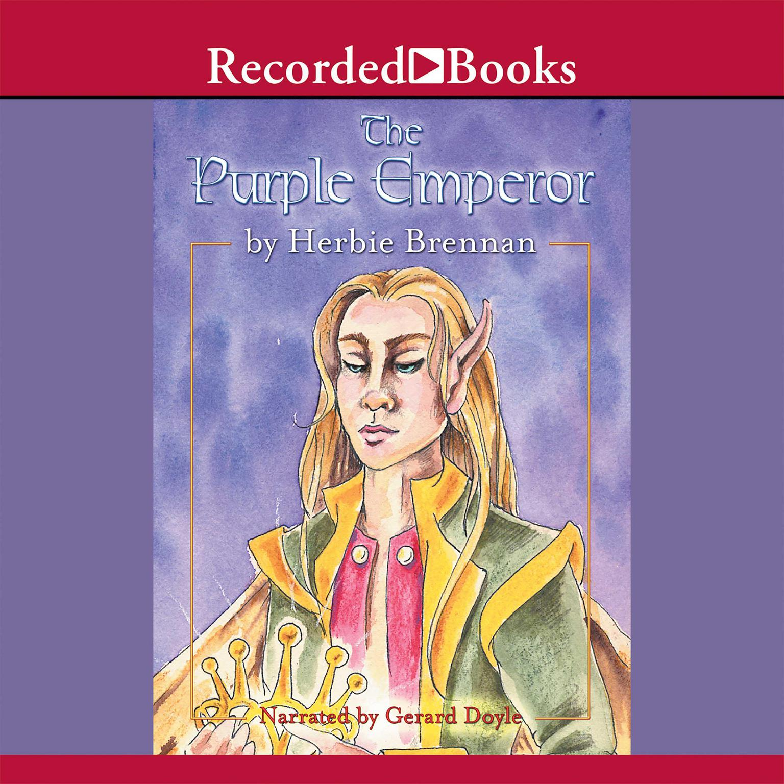 Printable The Purple Emperor Audiobook Cover Art