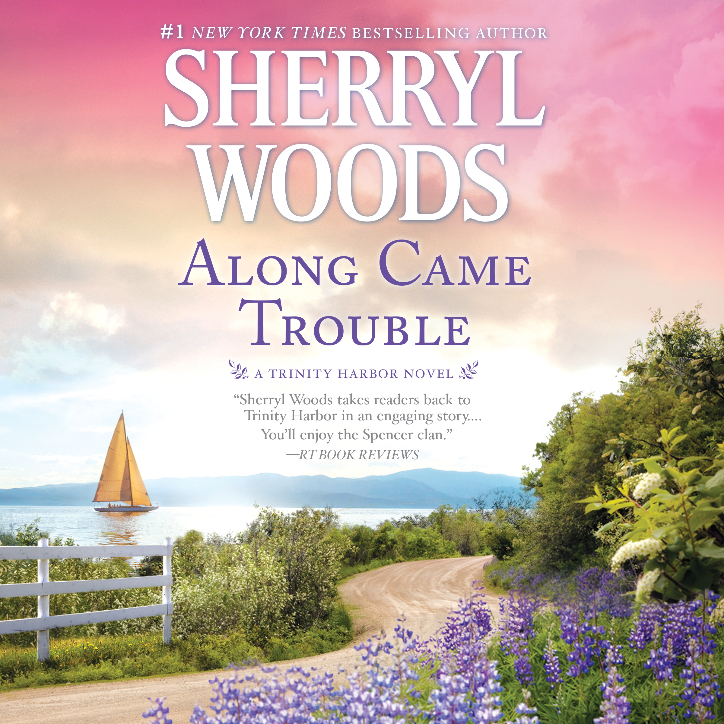 Printable Along Came Trouble Audiobook Cover Art