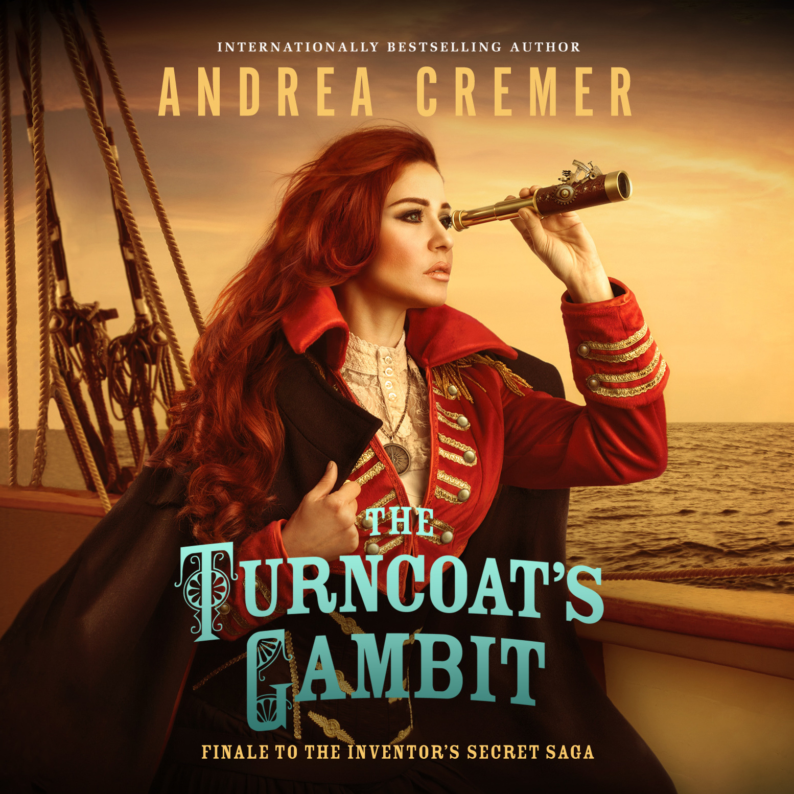 Printable The Turncoat's Gambit Audiobook Cover Art