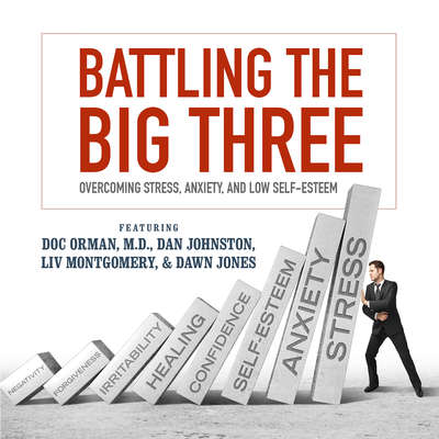 Battling the Big Three: Overcoming Stress, Anxiety, and Low Self-Esteem Audiobook, by Doc Orman