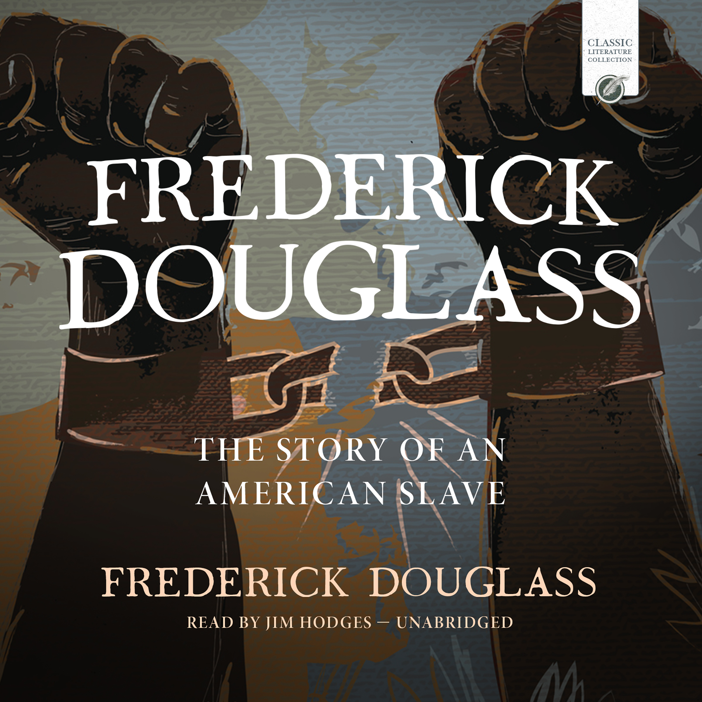 Printable Frederick Douglass: The Story of an American Slave Audiobook Cover Art