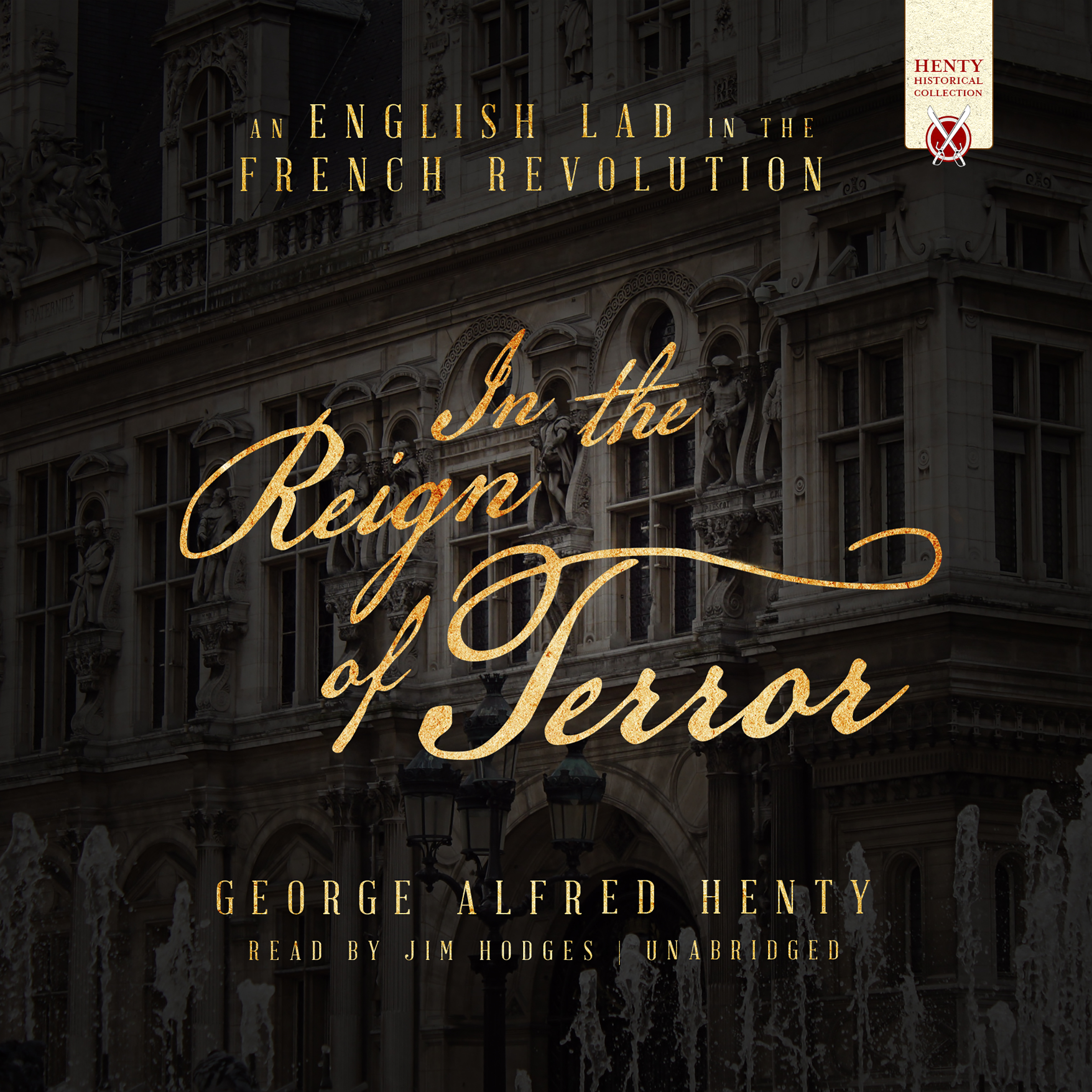 Printable In the Reign of Terror: An English Lad in the French Revolution Audiobook Cover Art