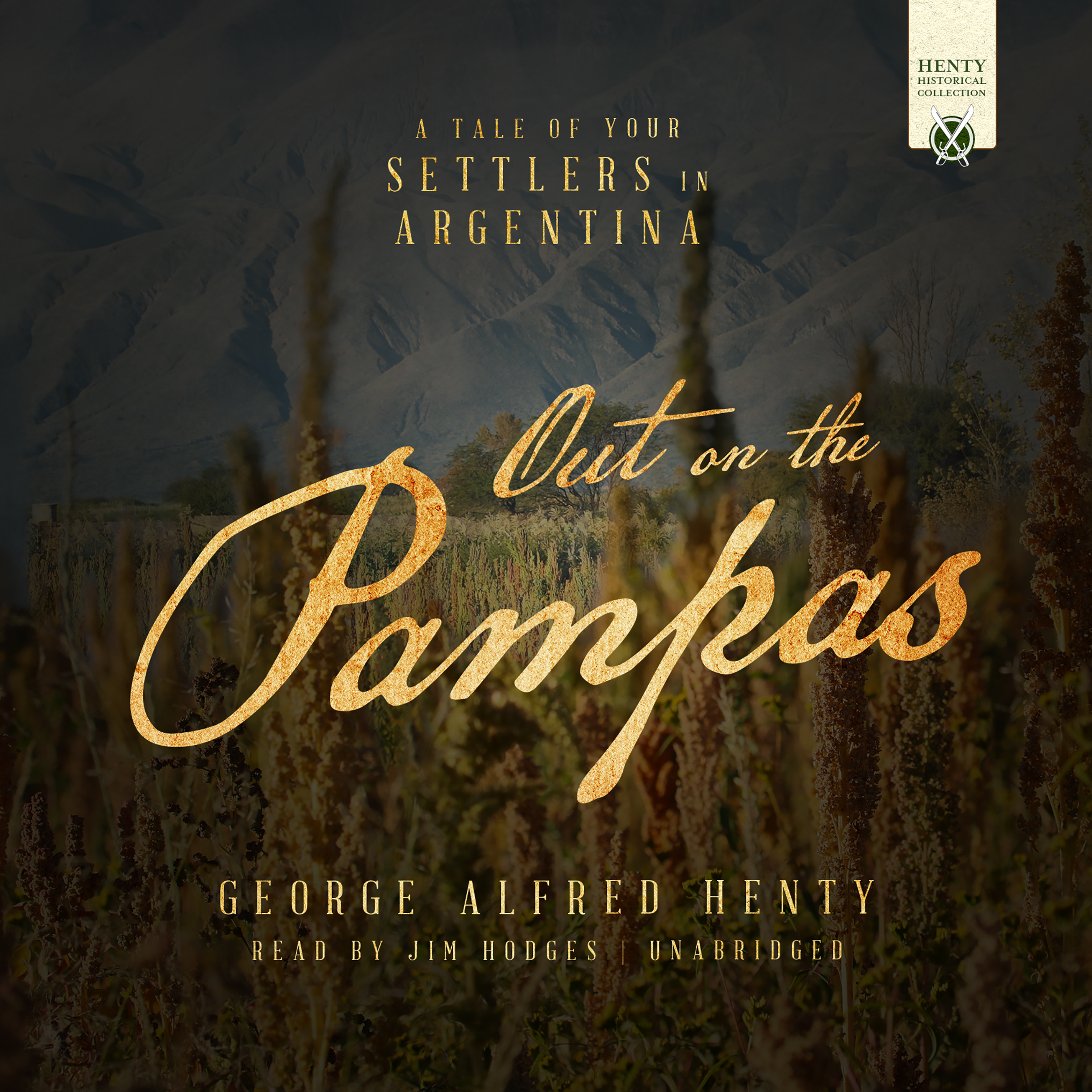 Printable Out on the Pampas Audiobook Cover Art