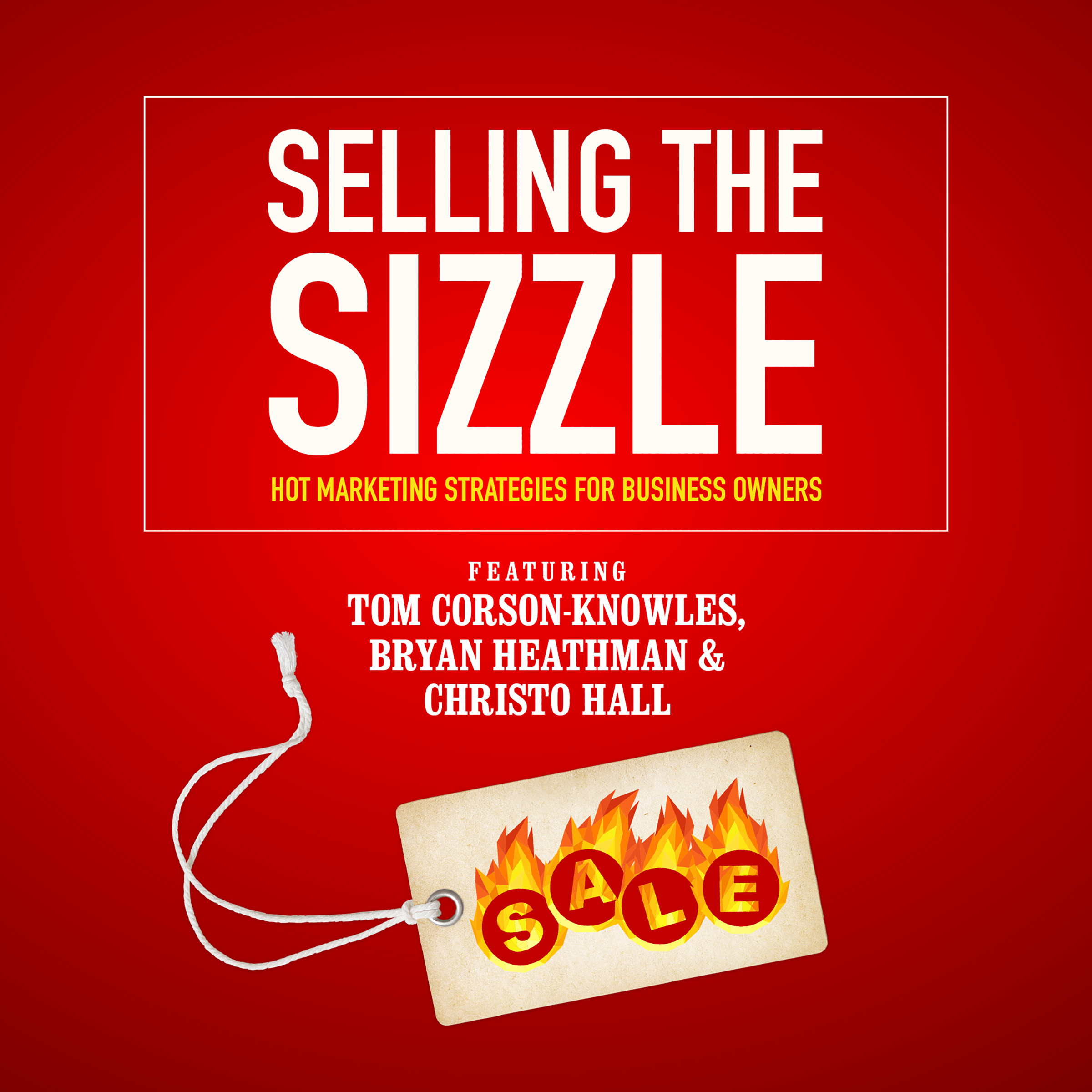 Printable Selling the Sizzle: Hot Marketing Strategies for Business Owners Audiobook Cover Art