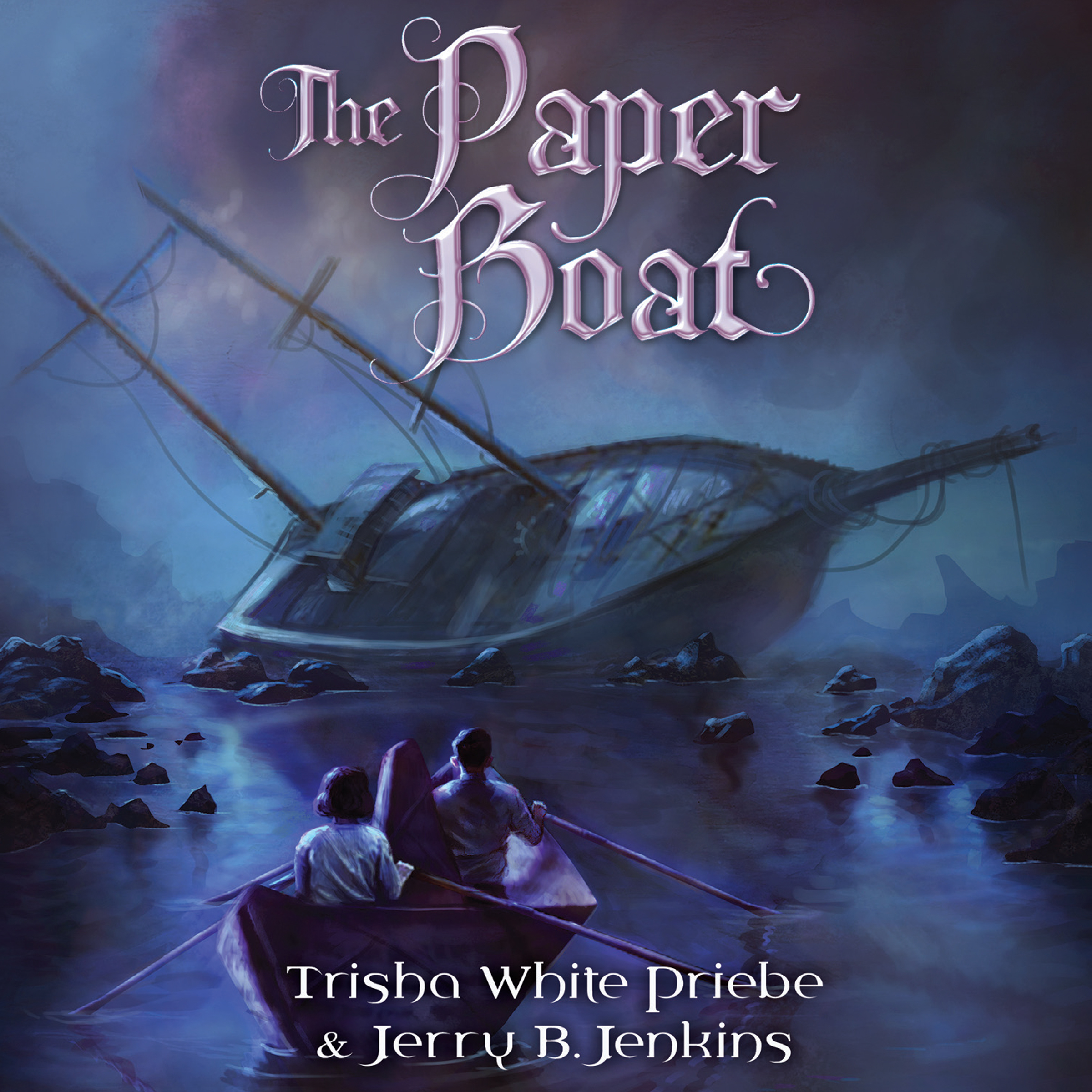 Printable The Paper Boat Audiobook Cover Art