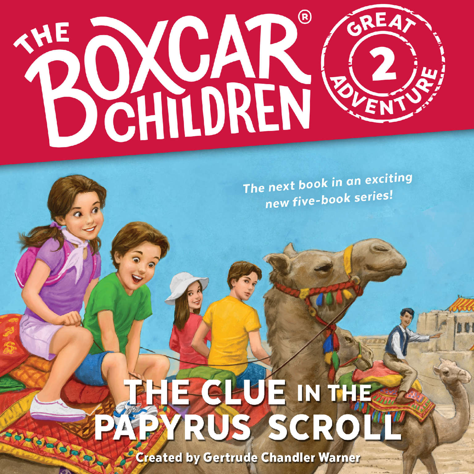 The Clue in the Papyrus Scroll Audiobook, by JM Lee