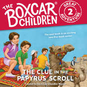 The Clue in the Papyrus Scroll Audiobook, by JM Lee, Dee Garretson, Gertrude Chandler Warner