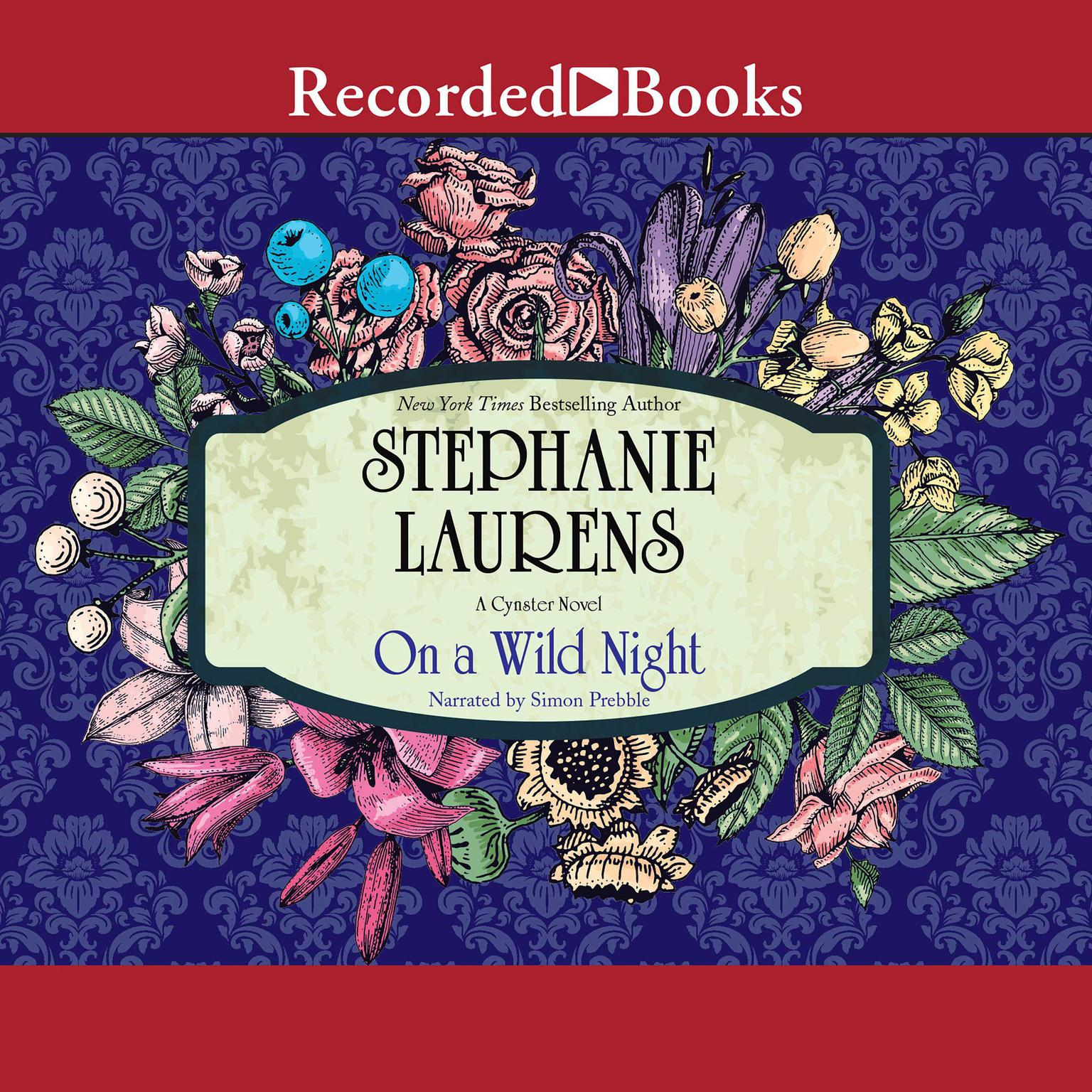Printable On A Wild Night Audiobook Cover Art