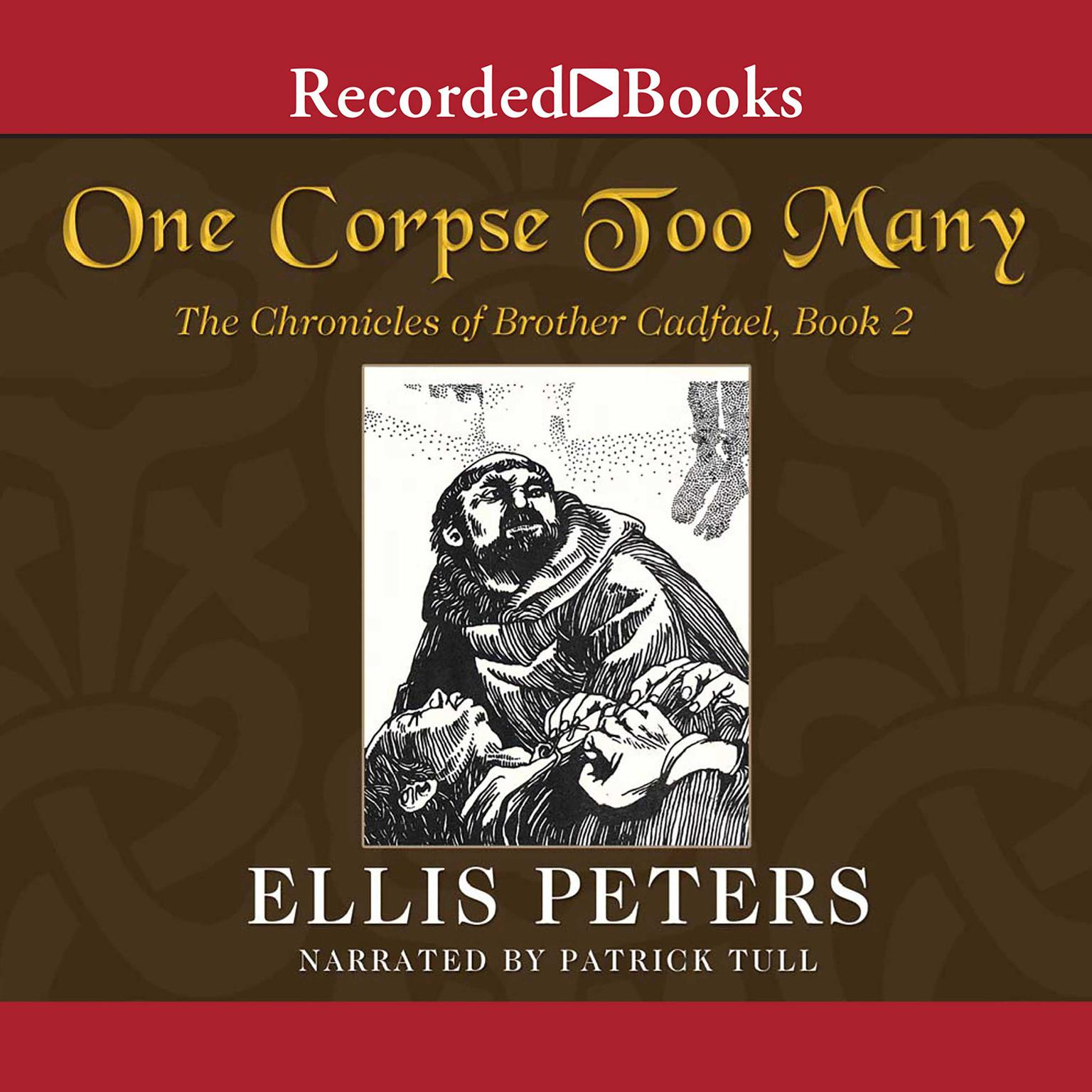 Printable One Corpse Too Many Audiobook Cover Art