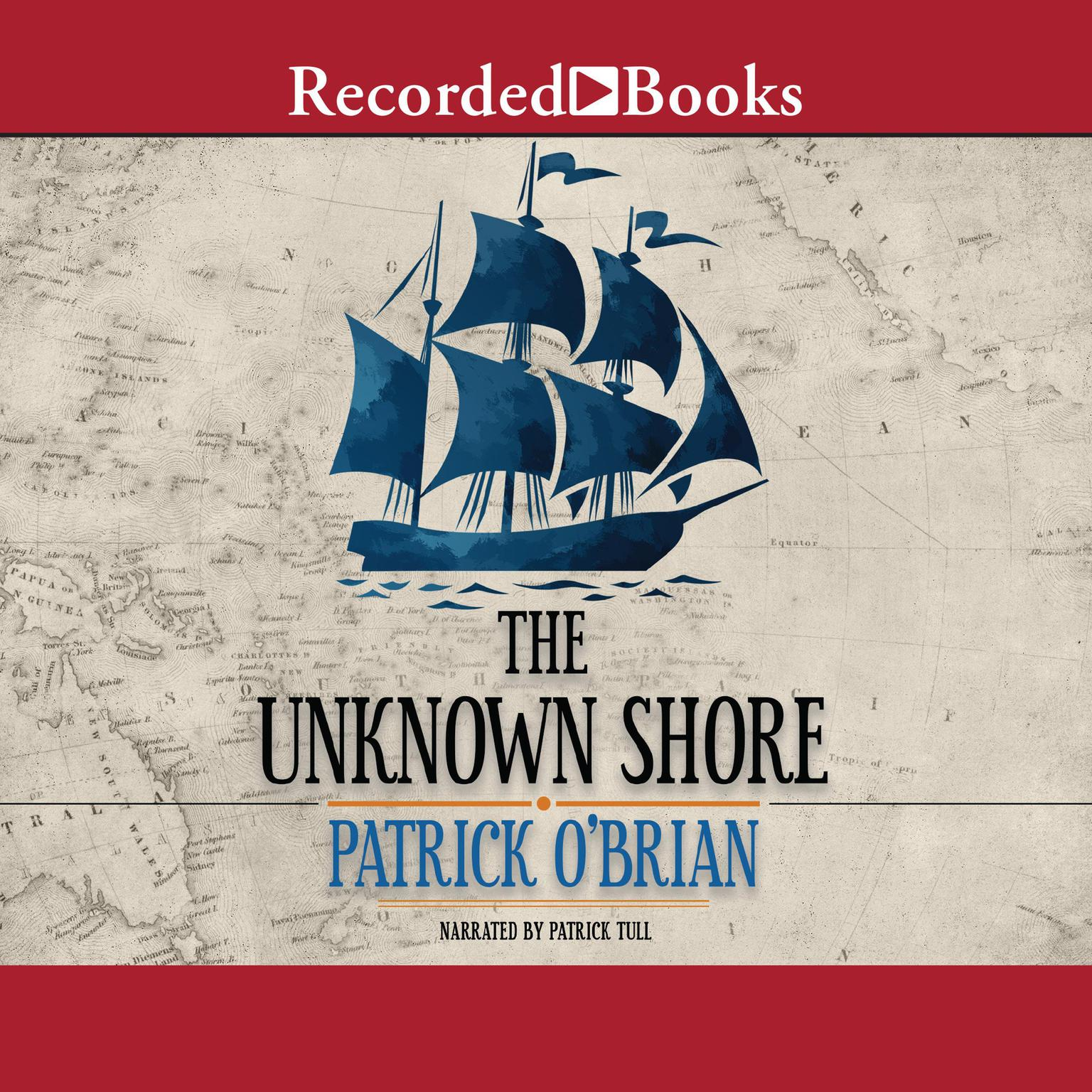 Printable The Unknown Shore Audiobook Cover Art