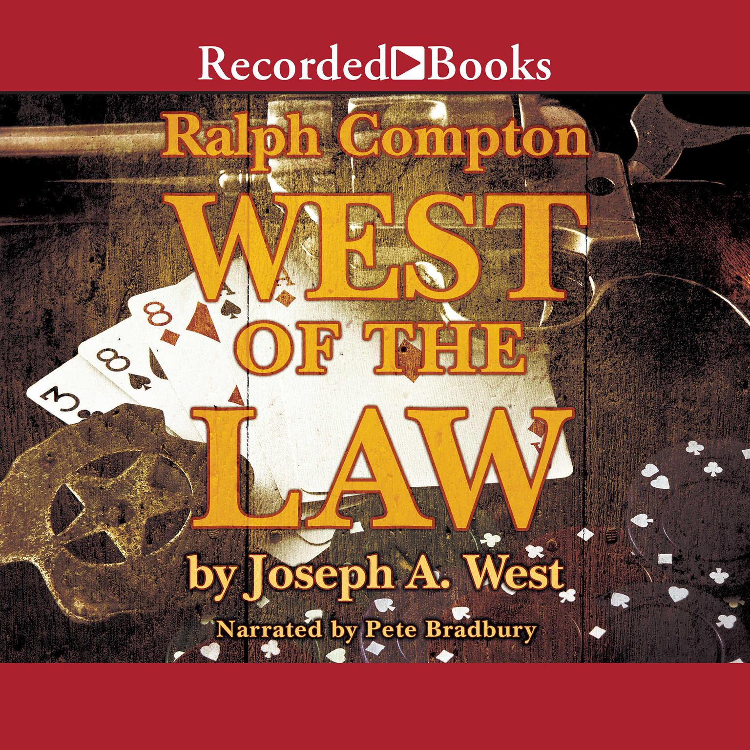 Printable West of the Law Audiobook Cover Art