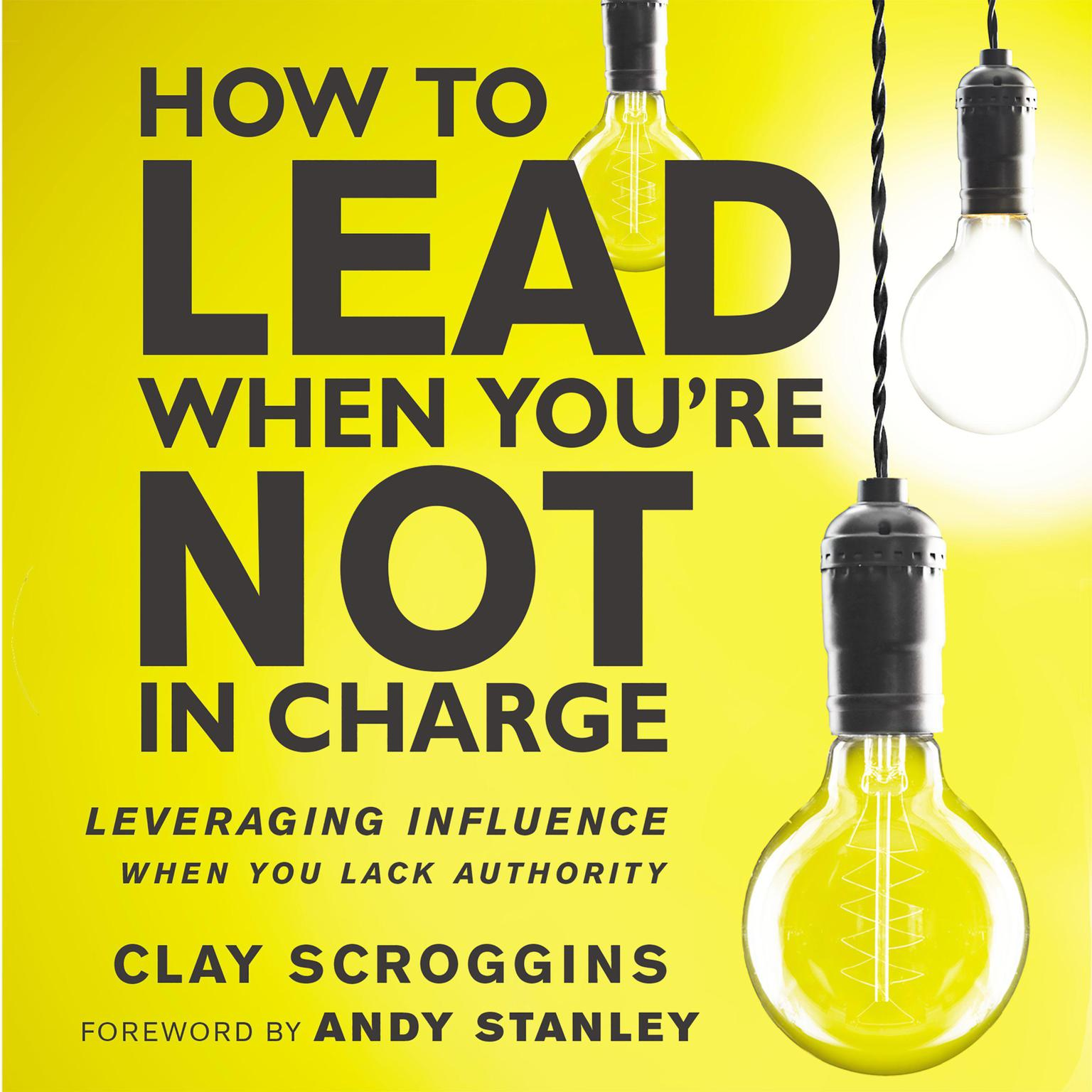 Printable How to Lead When You're Not in Charge: Leveraging Influence When You Lack Authority Audiobook Cover Art