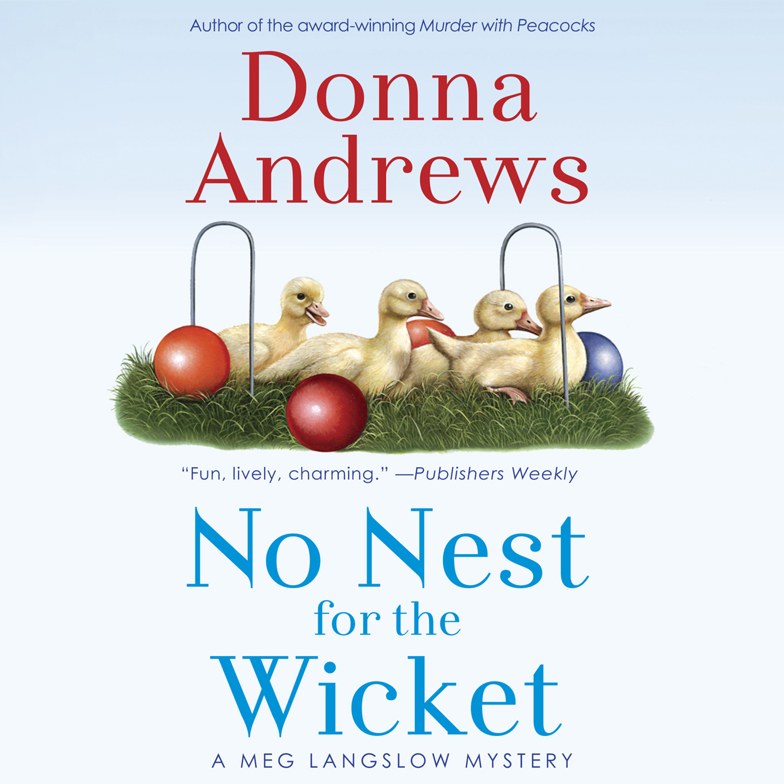 Printable No Nest for the Wicket Audiobook Cover Art