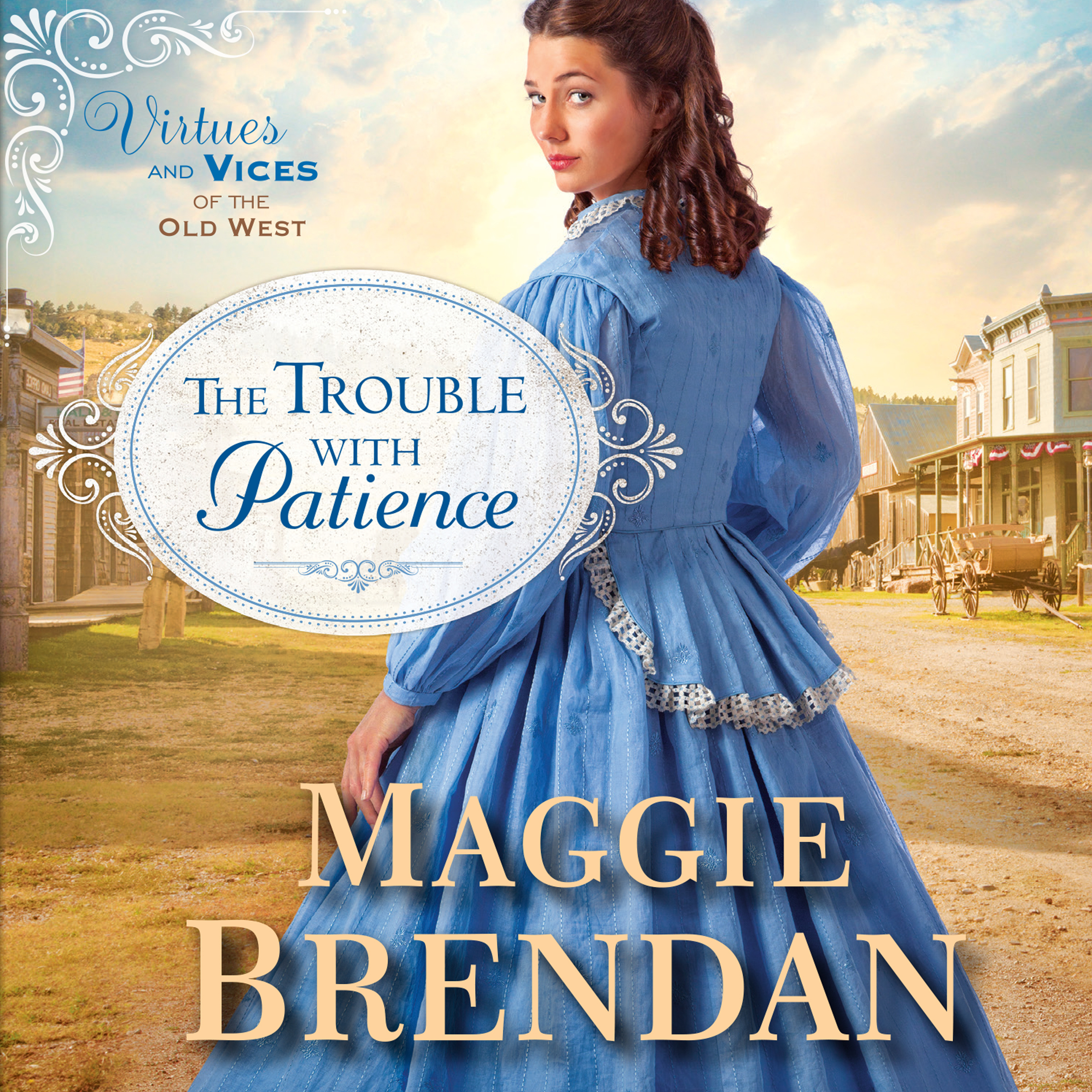 Printable The Trouble with Patience: A Novel Audiobook Cover Art