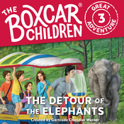 The Detour of the Elephants Audiobook, by Dee Garretson, Gertrude Chandler Warner, JM Lee