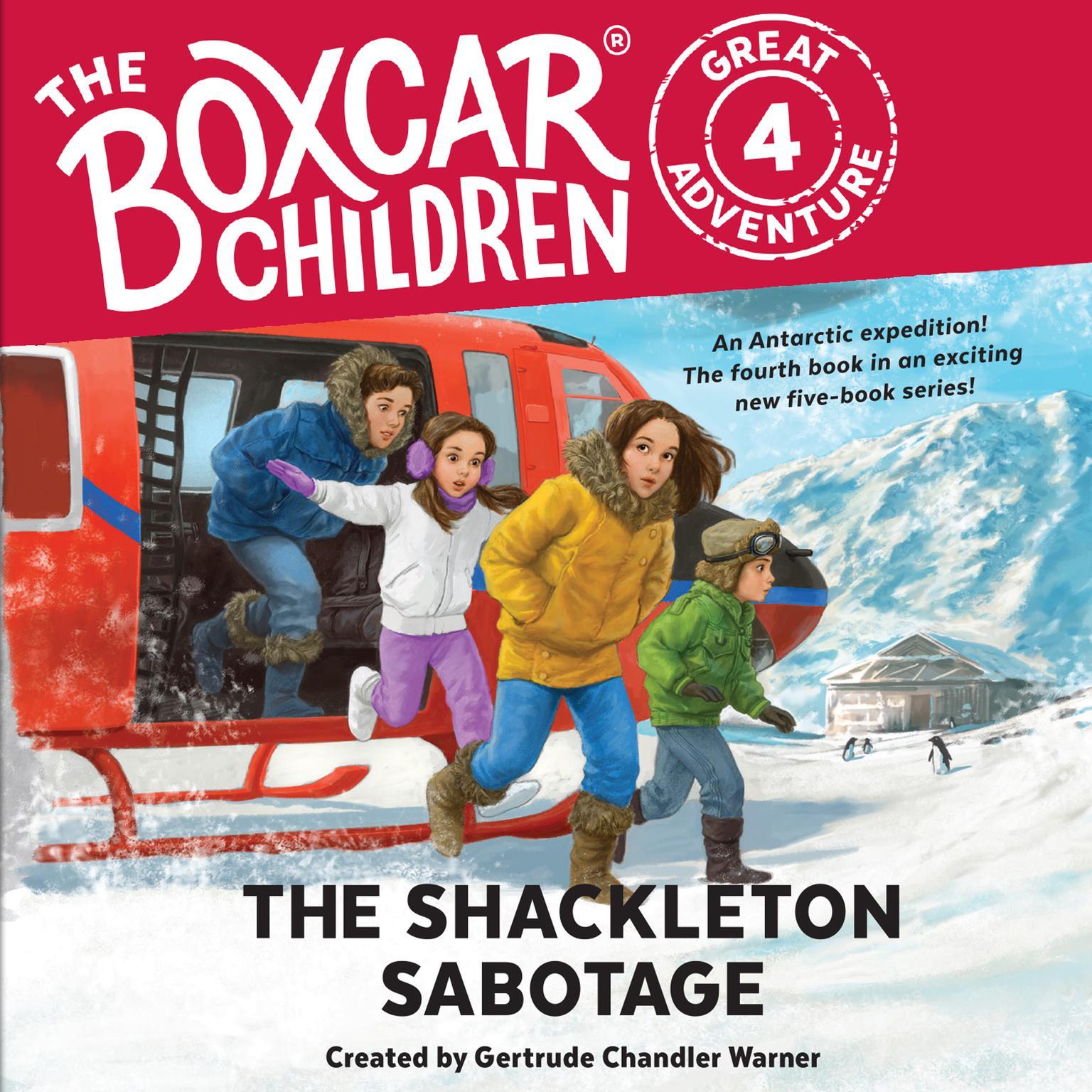 The Shackleton Sabotage Audiobook, by Dee Garretson