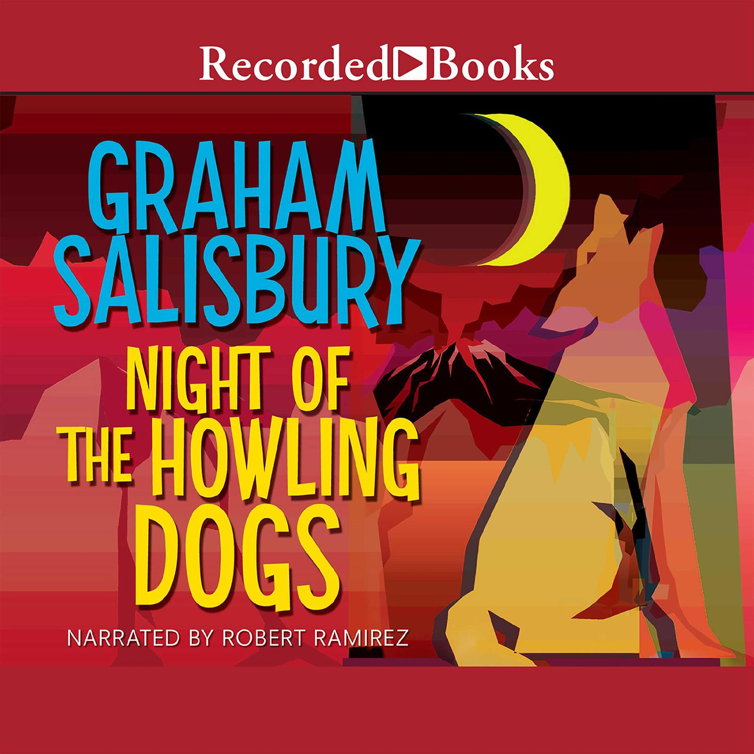 Printable Night of the Howling Dogs Audiobook Cover Art