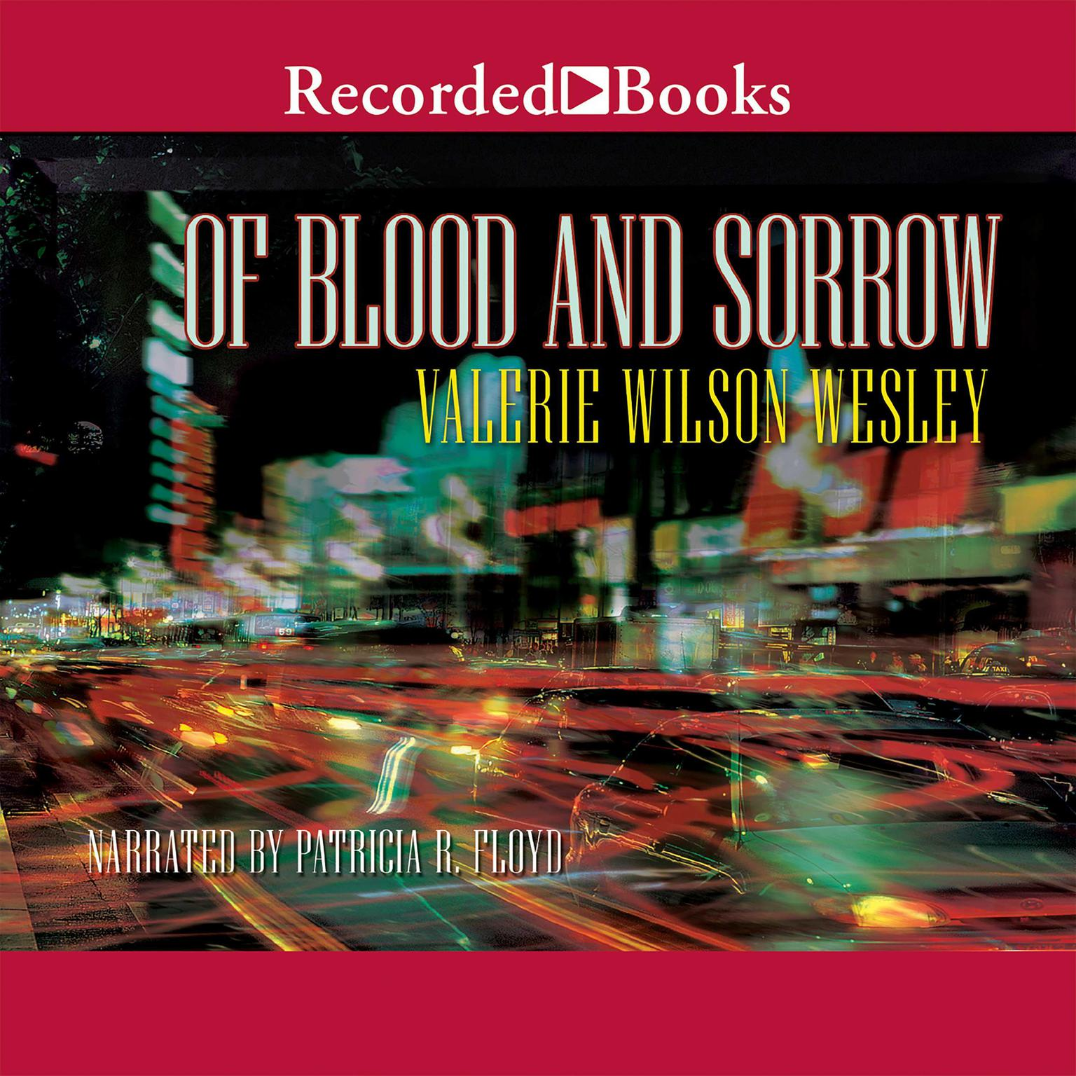 Printable Of Blood and Sorrow Audiobook Cover Art