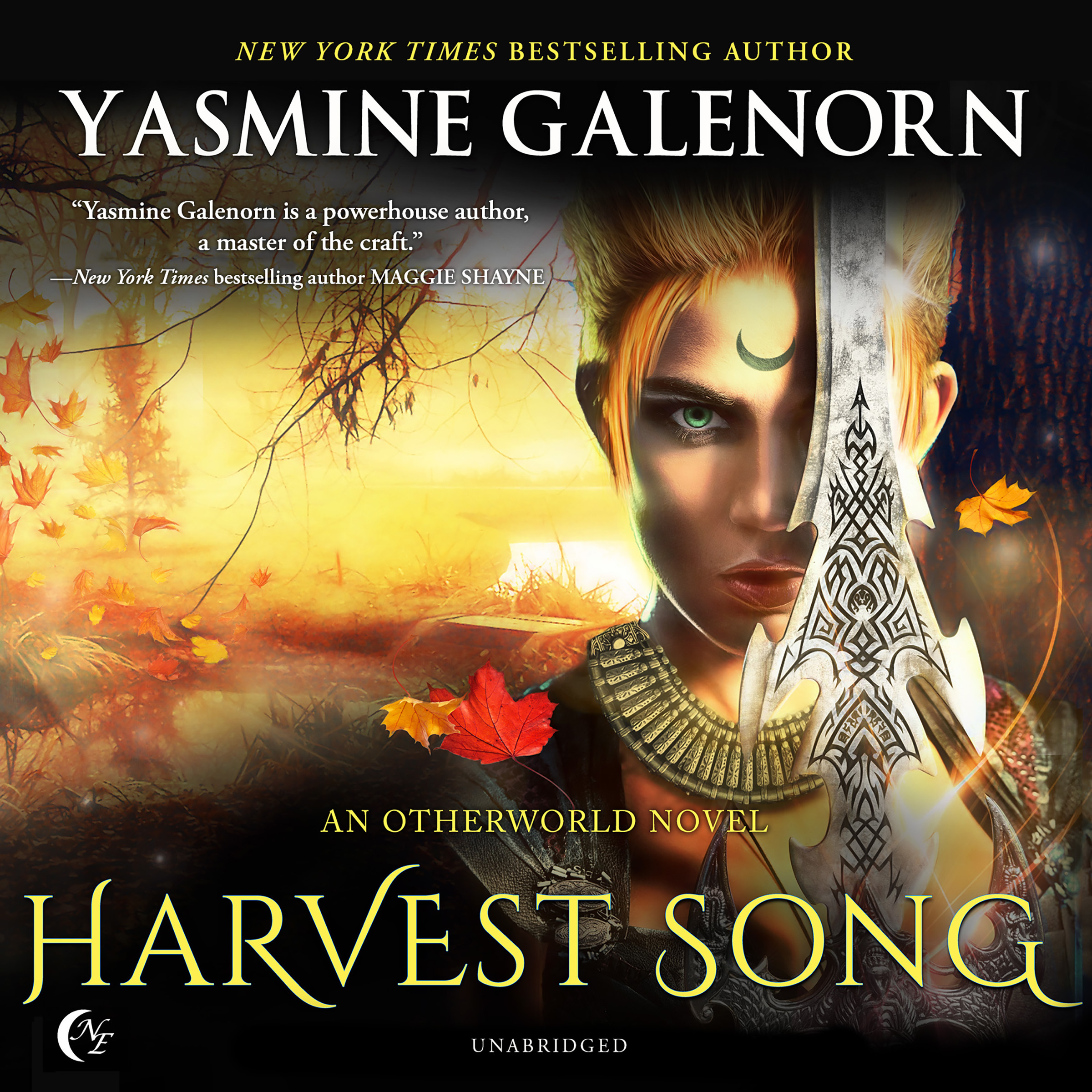 Printable Harvest Song: An Otherworld Novel Audiobook Cover Art