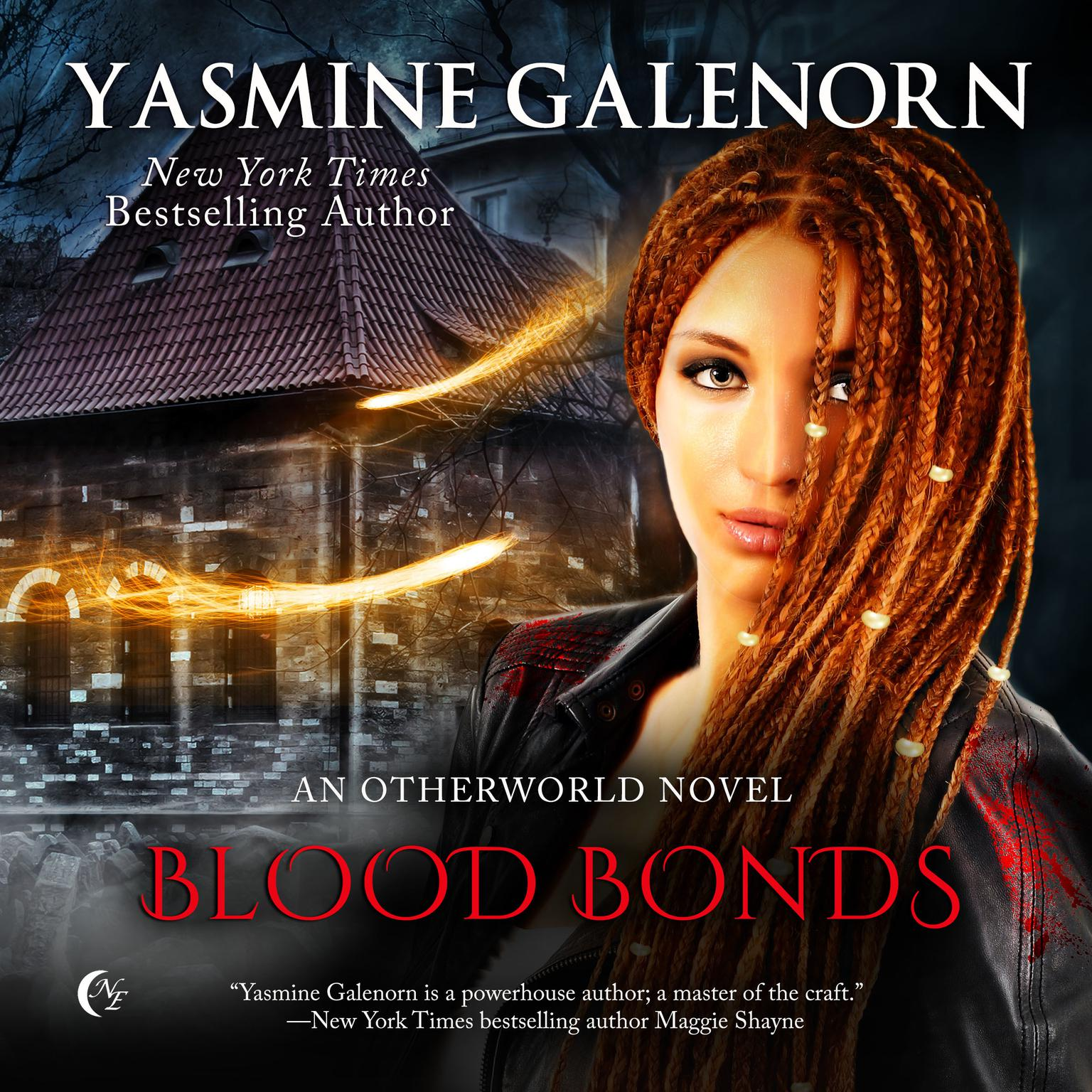 Printable Blood Bonds: An Otherworld Novel Audiobook Cover Art