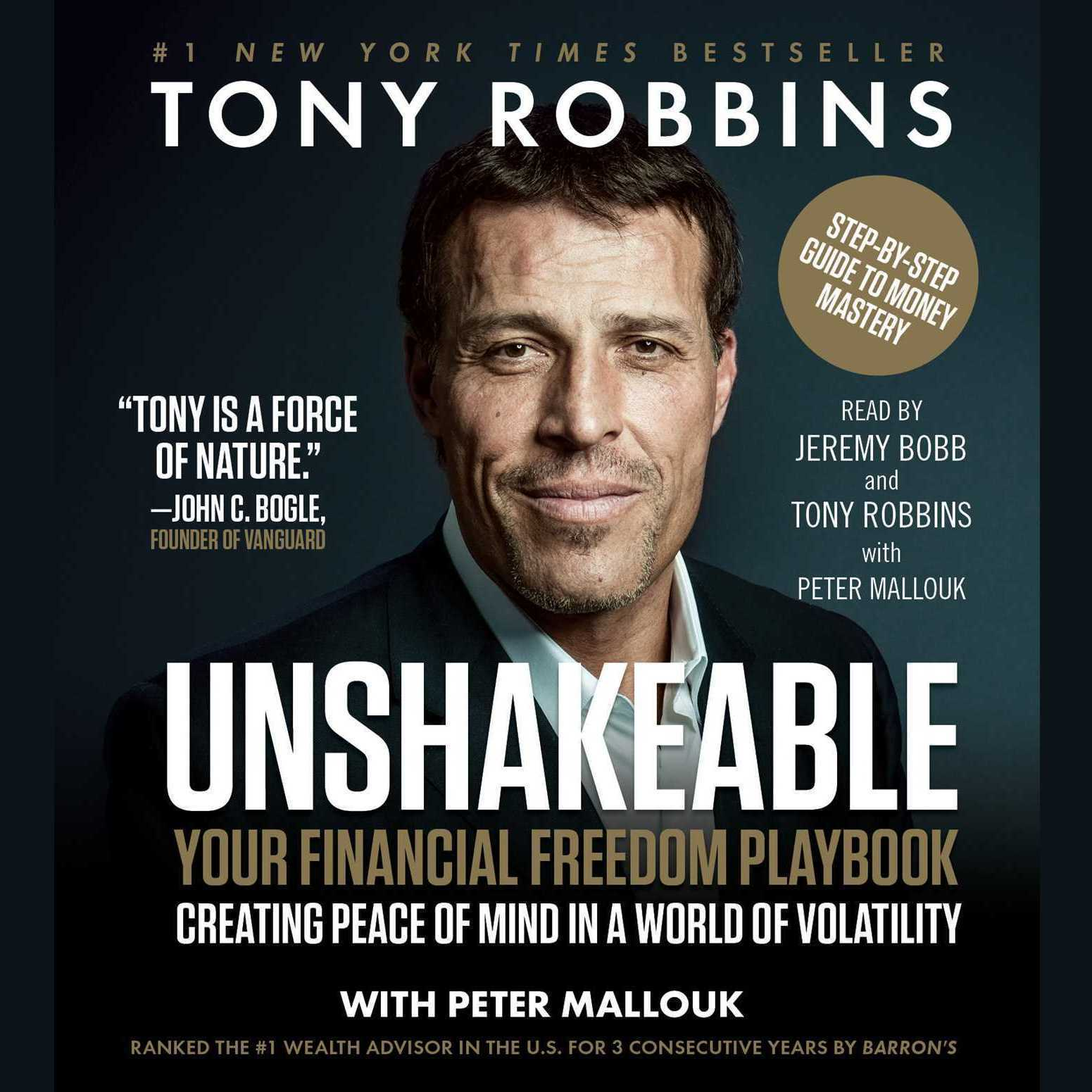 Printable Unshakeable: How to Thrive (Not Just Survive) in the Coming Financial Correction Audiobook Cover Art
