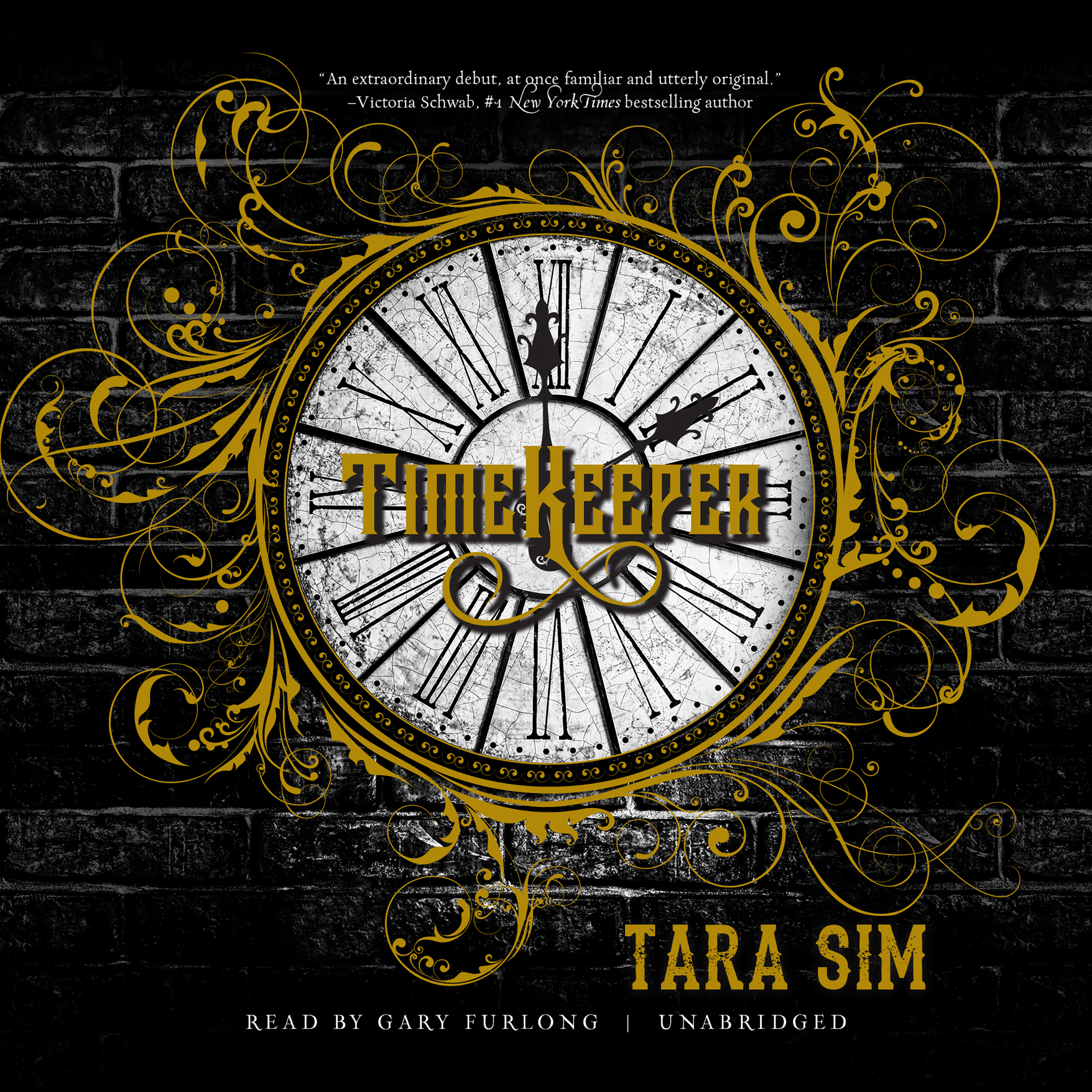 Printable Timekeeper Audiobook Cover Art