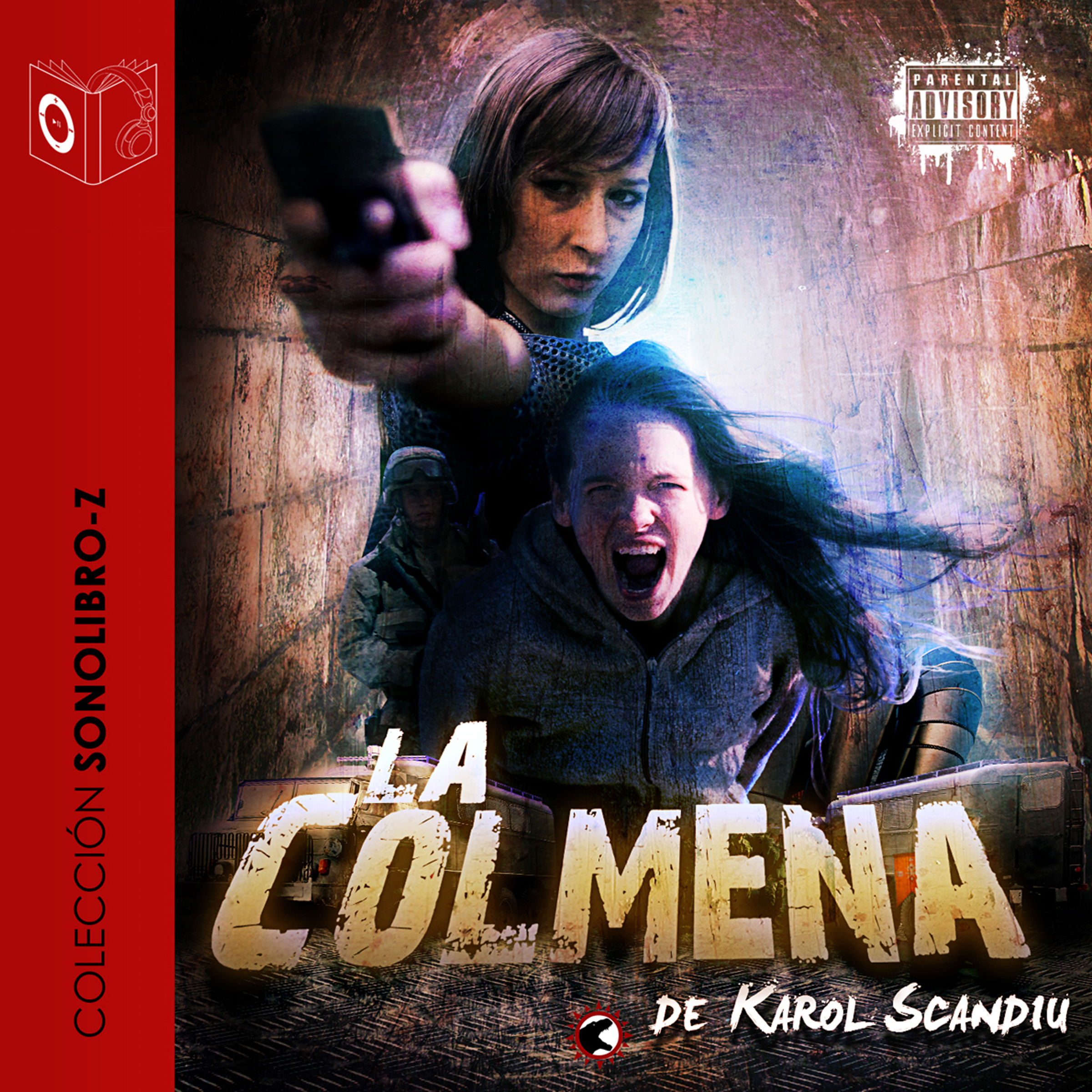 Printable La colmena Audiobook Cover Art