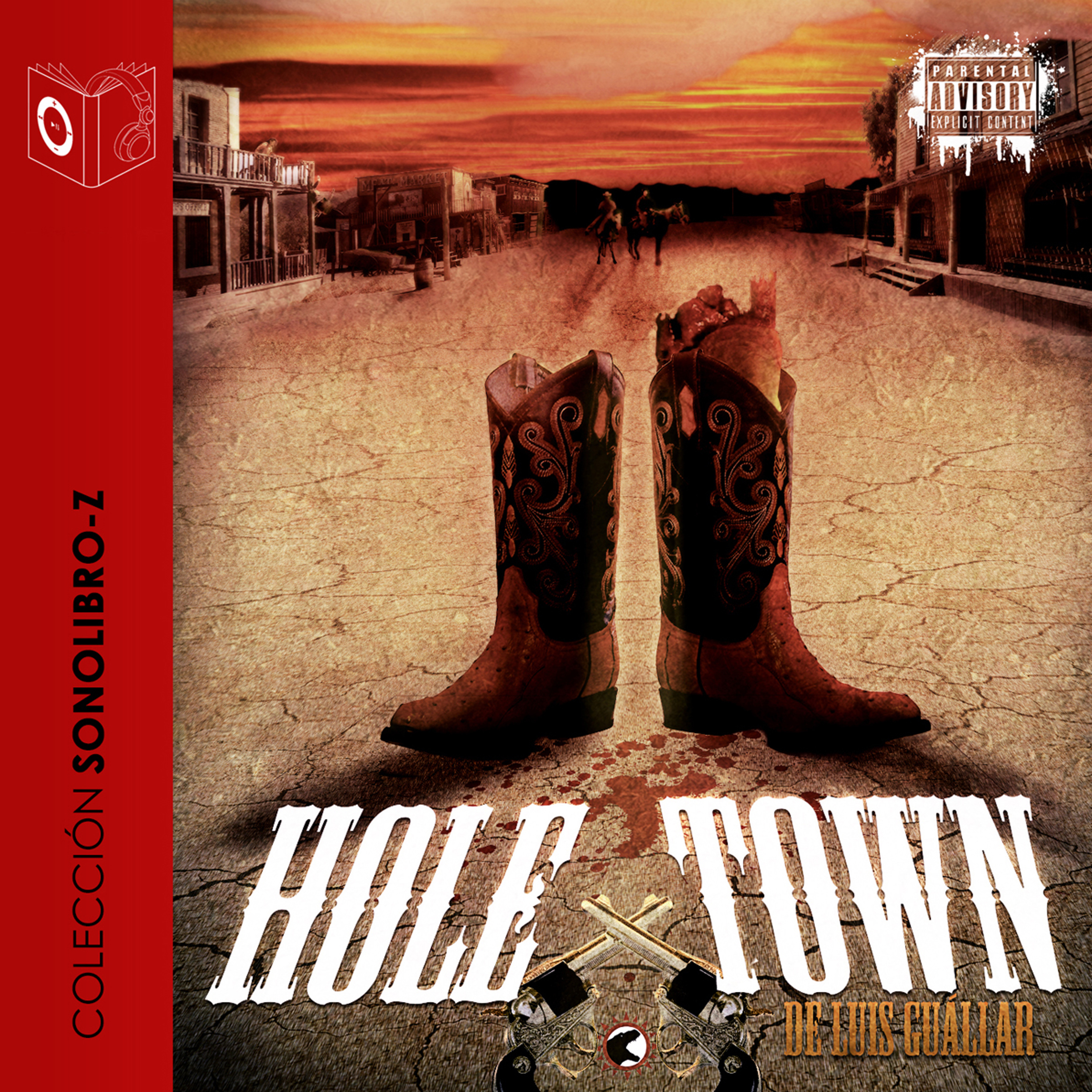 Printable Hole Town Audiobook Cover Art