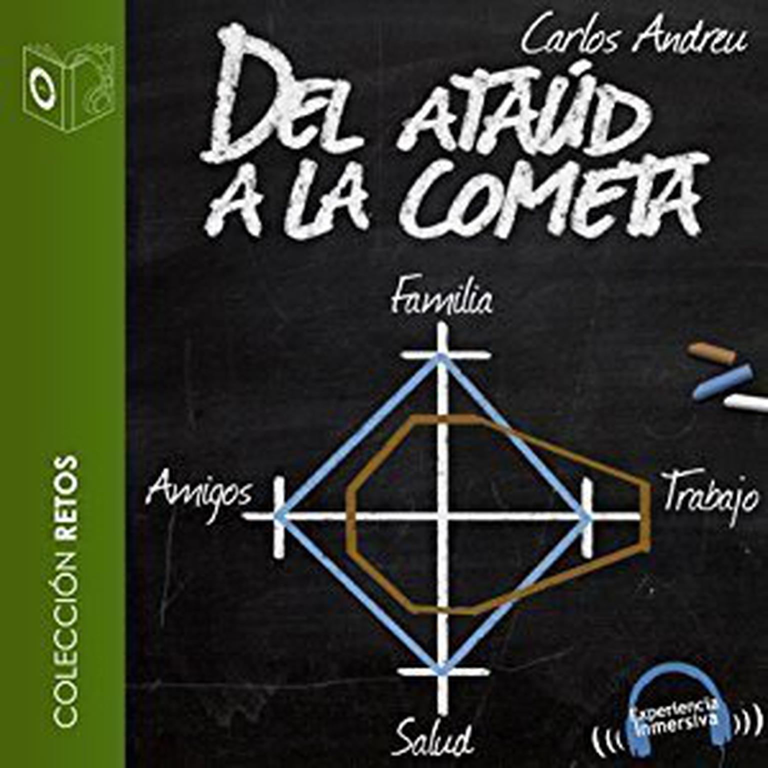 Printable Del ataúd a la cometa Audiobook Cover Art